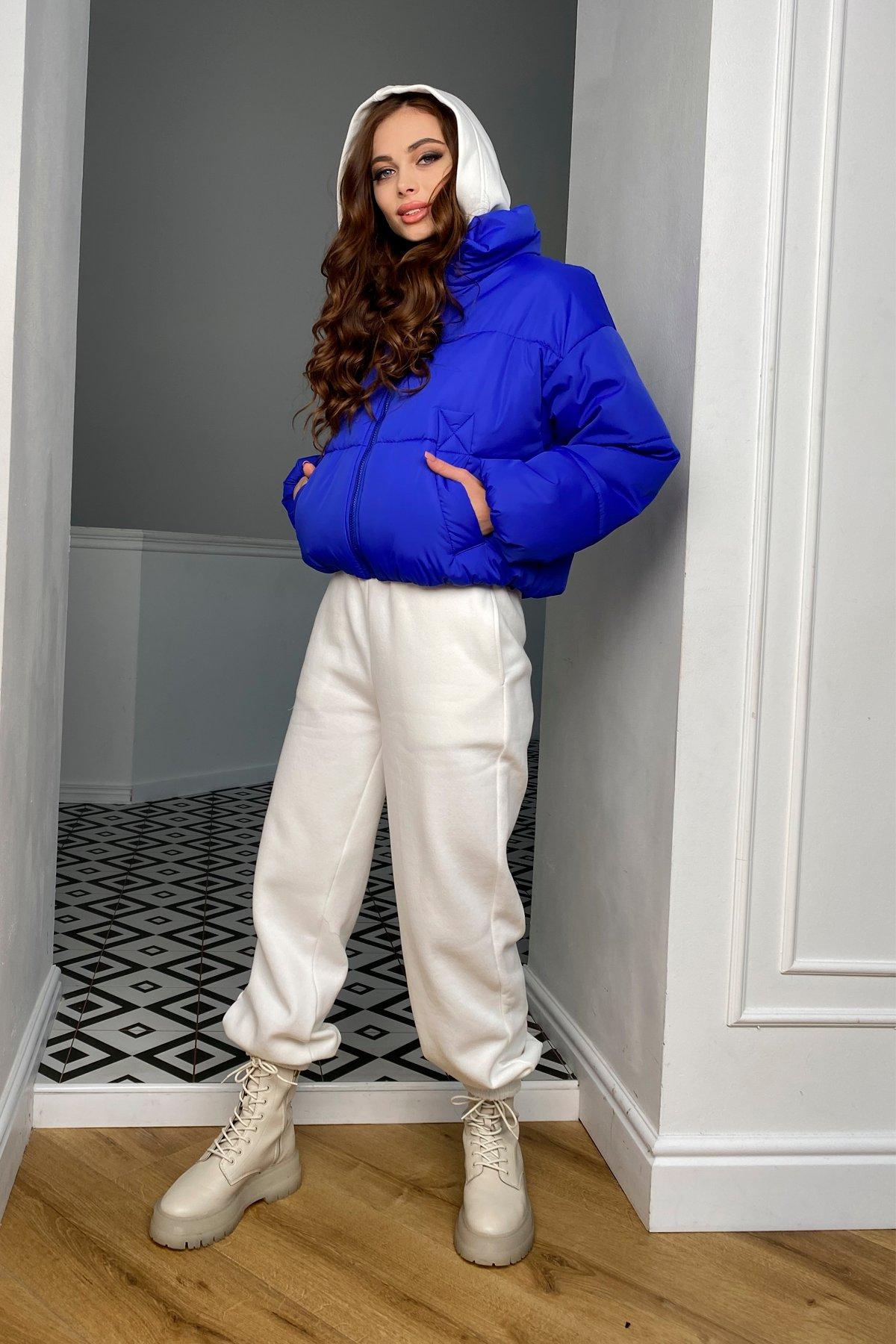 Драйв куртка из плащевой ткани 10448 АРТ. 46769 Цвет: Электрик 1052 - фото 9, интернет магазин tm-modus.ru