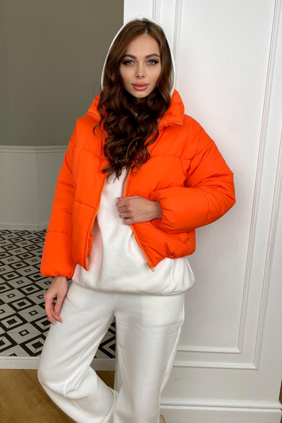 Драйв куртка из плащевой ткани 10448 АРТ. 46766 Цвет: Оранжевый 788 - фото 2, интернет магазин tm-modus.ru