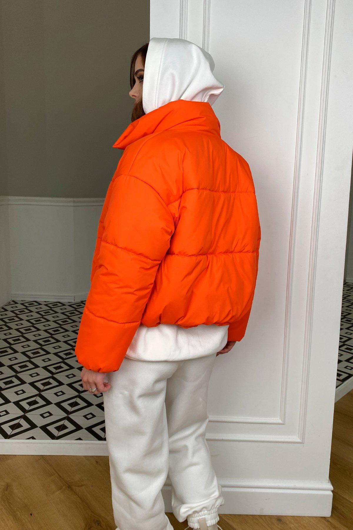 Драйв куртка из плащевой ткани 10448 АРТ. 46766 Цвет: Оранжевый 788 - фото 3, интернет магазин tm-modus.ru