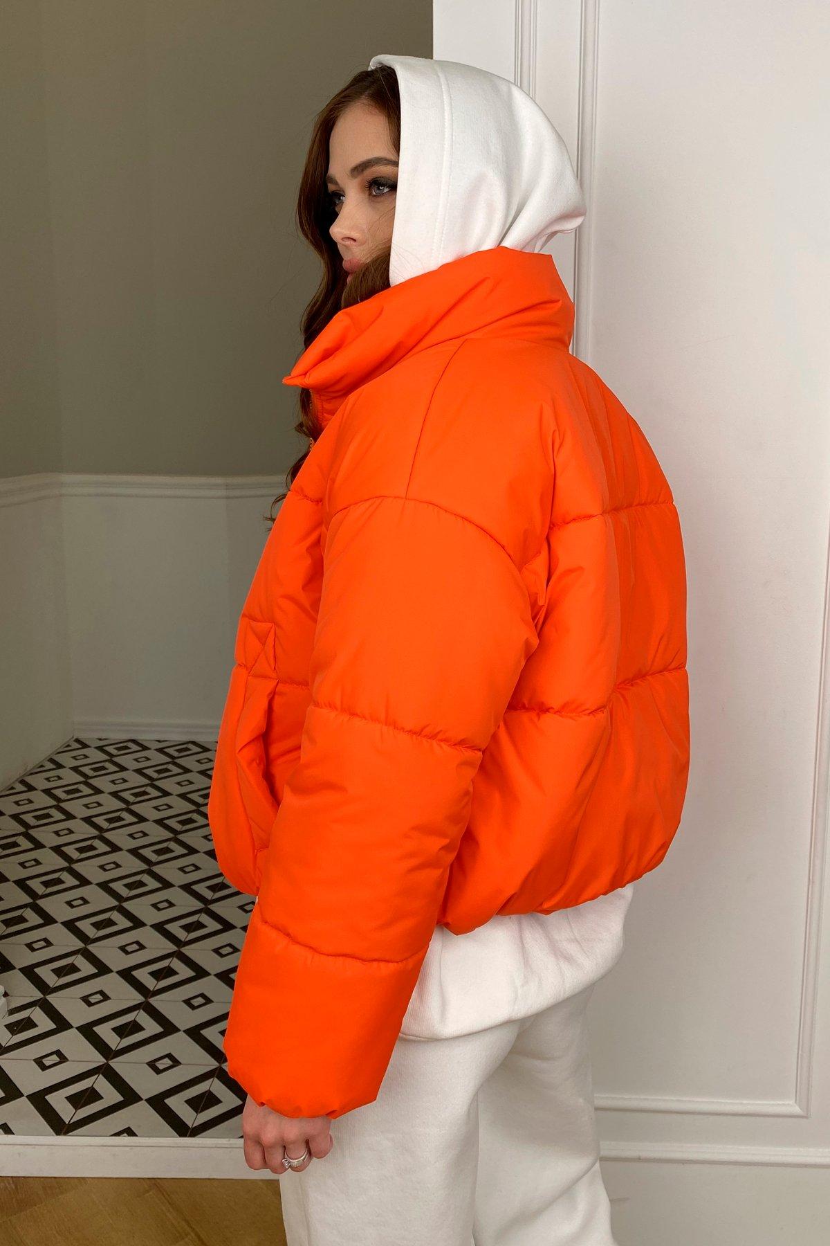 Драйв куртка из плащевой ткани 10448 АРТ. 46766 Цвет: Оранжевый 788 - фото 4, интернет магазин tm-modus.ru