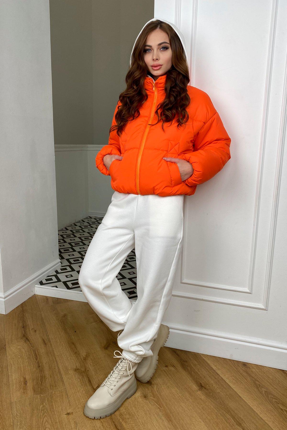 Драйв куртка из плащевой ткани 10448 АРТ. 46766 Цвет: Оранжевый 788 - фото 5, интернет магазин tm-modus.ru