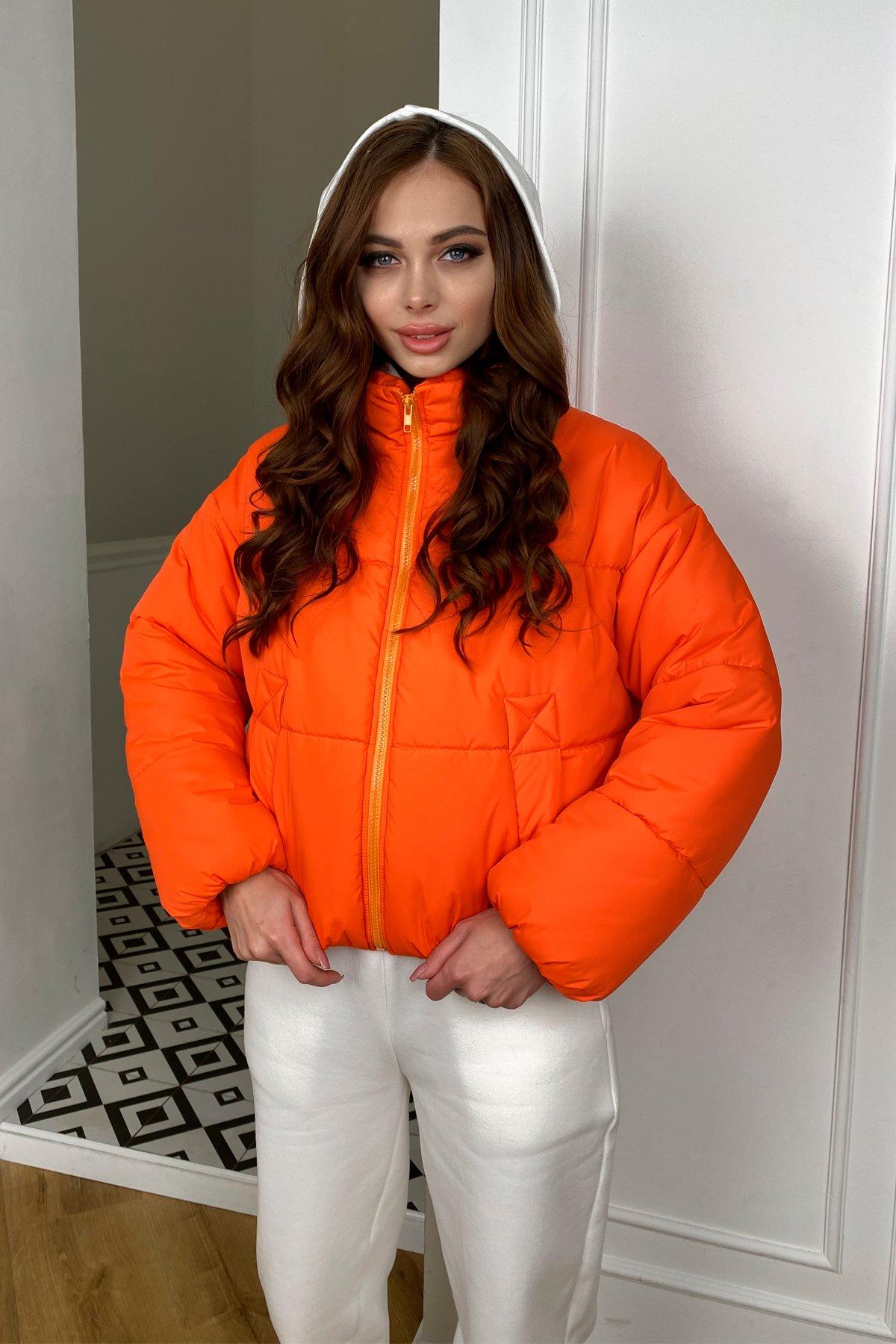 Драйв куртка из плащевой ткани 10448 АРТ. 46766 Цвет: Оранжевый 788 - фото 6, интернет магазин tm-modus.ru