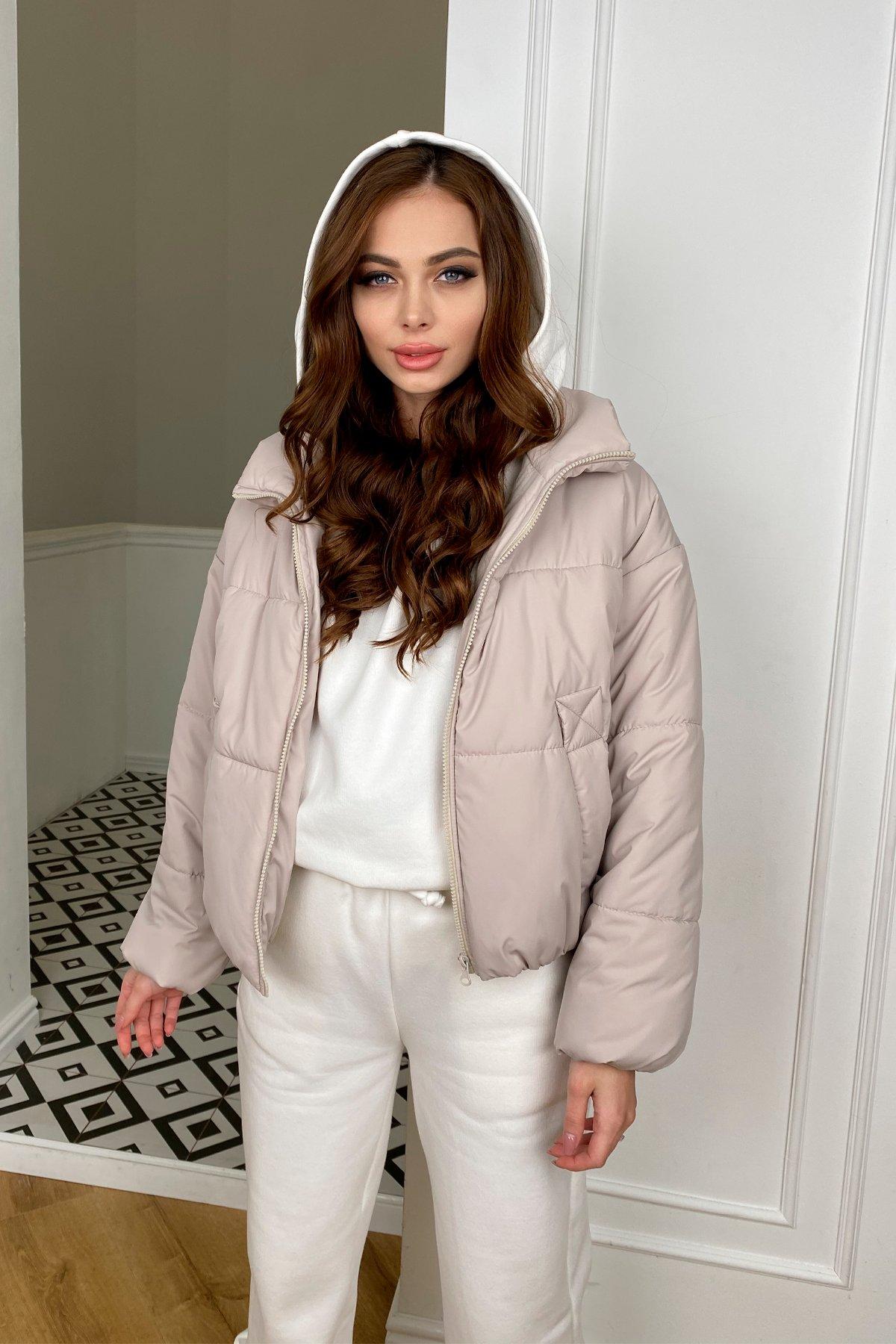 Драйв куртка из плащевой ткани 10448 АРТ. 46768 Цвет: Бежевый 511 - фото 1, интернет магазин tm-modus.ru
