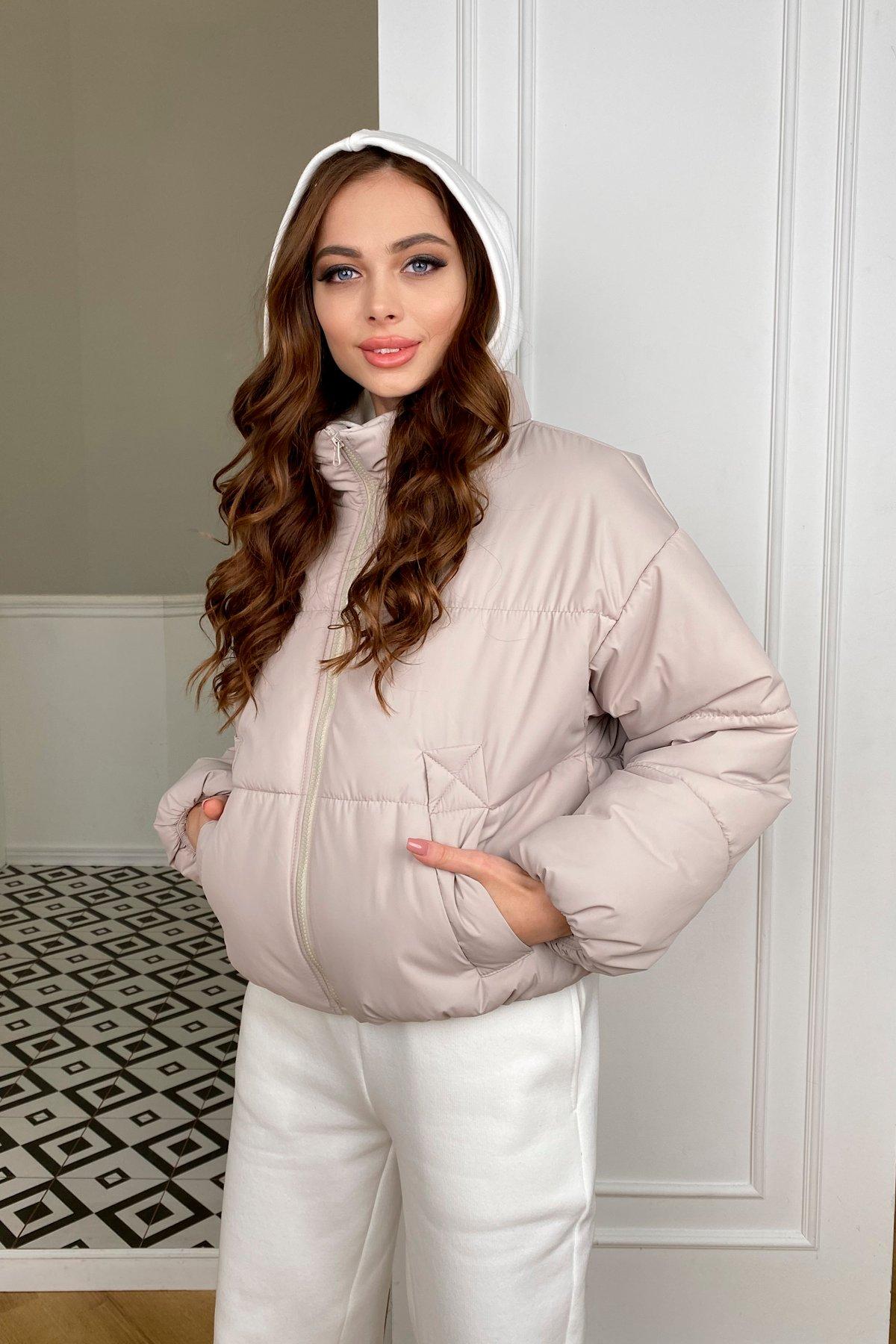 Драйв куртка из плащевой ткани 10448 АРТ. 46768 Цвет: Бежевый 511 - фото 4, интернет магазин tm-modus.ru