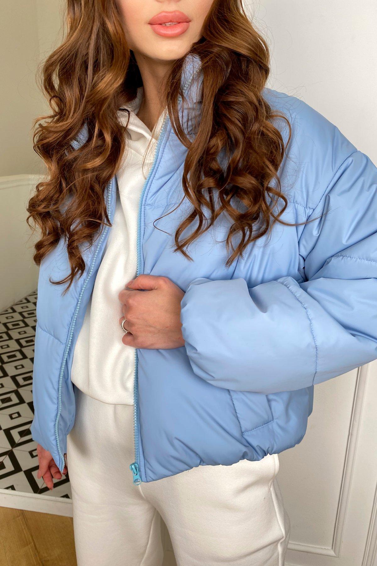 Драйв куртка из плащевой ткани 10448 АРТ. 46774 Цвет: Голубой - фото 4, интернет магазин tm-modus.ru