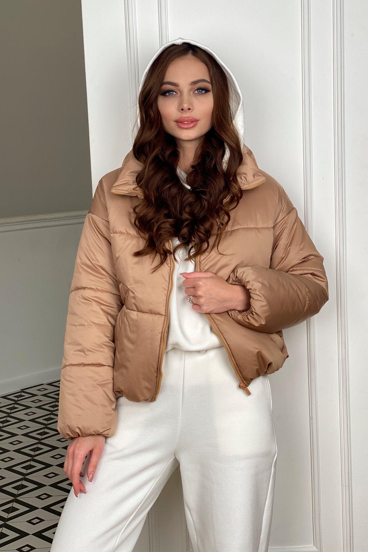 Драйв куртка из плащевой матовой ткани  10232 АРТ. 46523 Цвет: Кемел - фото 1, интернет магазин tm-modus.ru