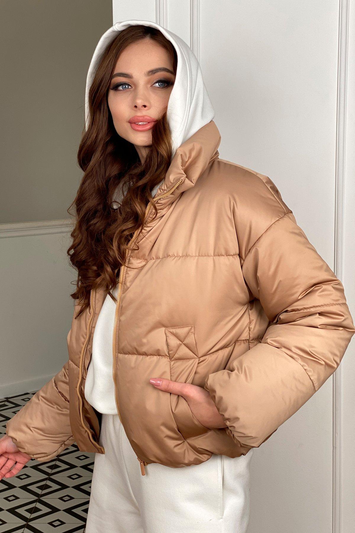Драйв куртка из плащевой матовой ткани  10232 АРТ. 46523 Цвет: Кемел - фото 2, интернет магазин tm-modus.ru