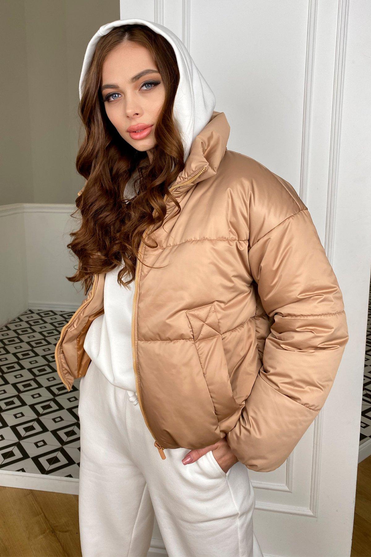 куртка демисезонная женская Драйв куртка из плащевой матовой ткани  10232