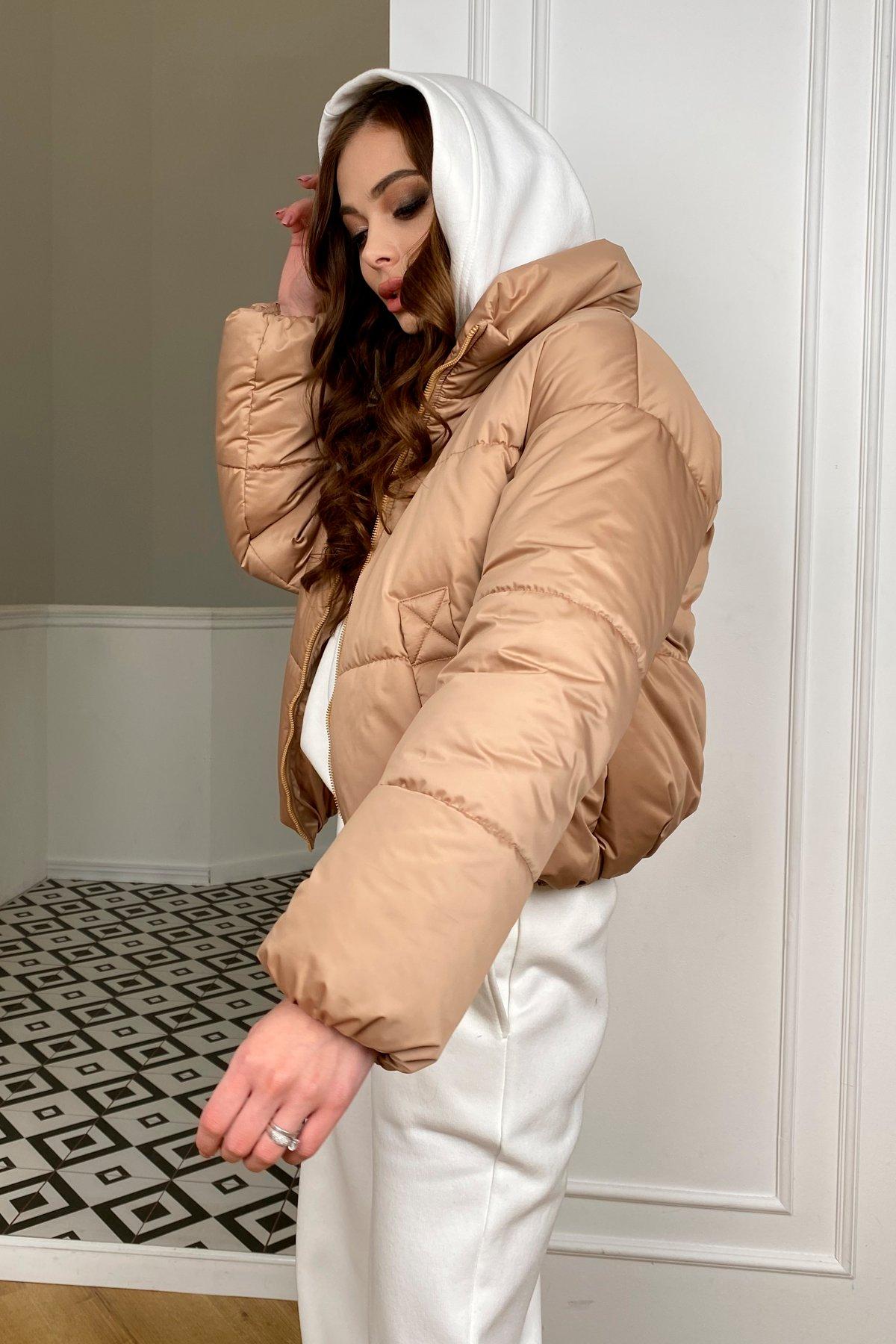 Драйв куртка из плащевой матовой ткани  10232 АРТ. 46523 Цвет: Кемел - фото 6, интернет магазин tm-modus.ru