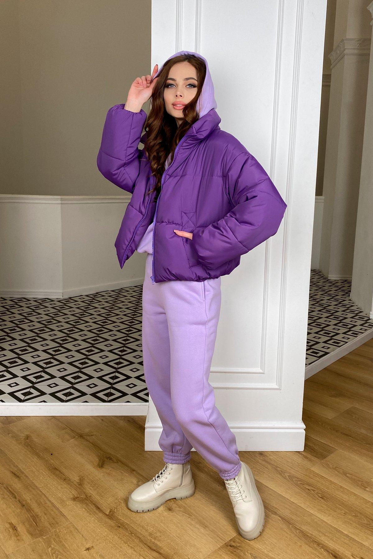 Драйв куртка из плащевой ткани 10448 АРТ. 46767 Цвет: Сиреневый 861 - фото 2, интернет магазин tm-modus.ru