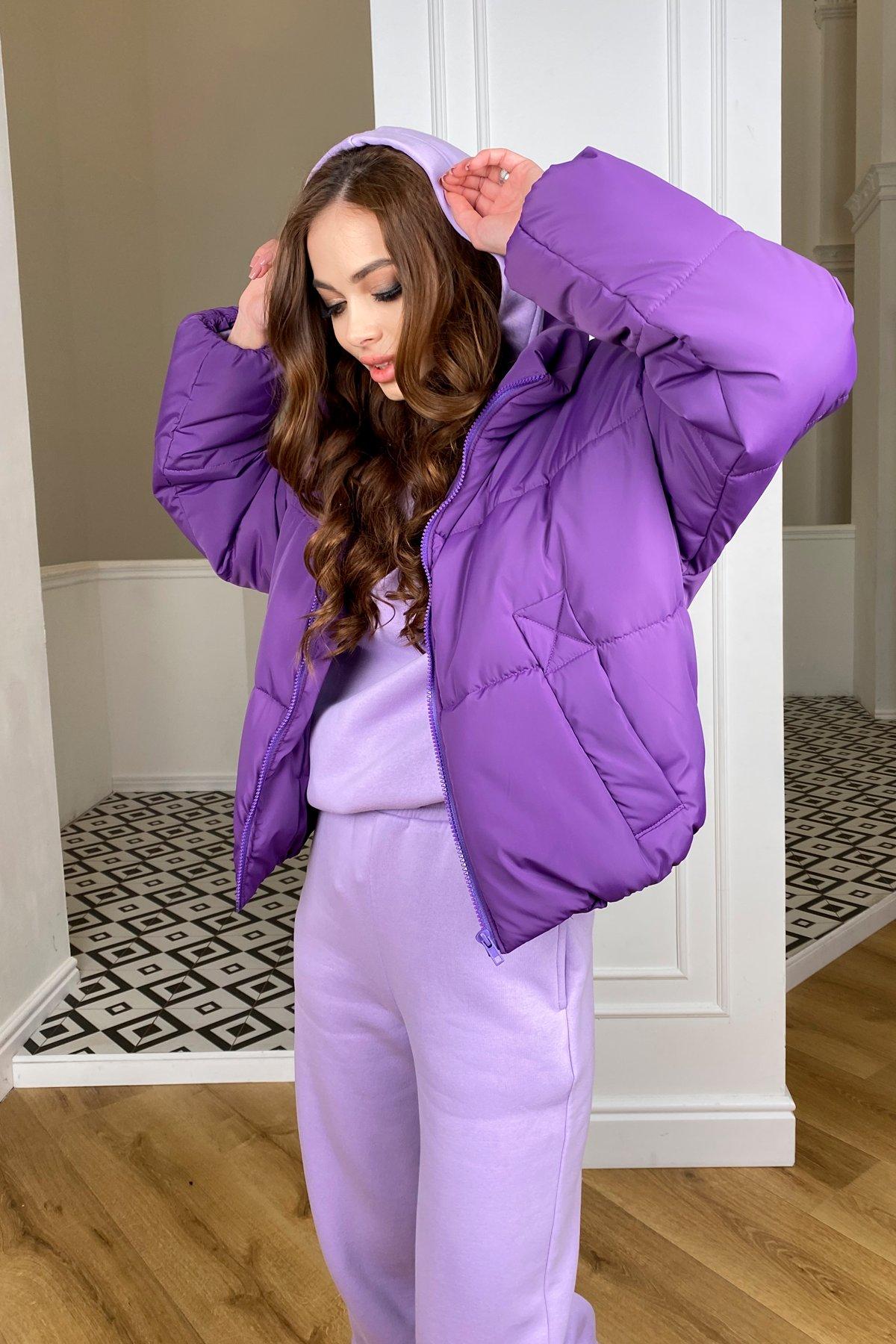 Драйв куртка из плащевой ткани 10448 АРТ. 46767 Цвет: Сиреневый 861 - фото 5, интернет магазин tm-modus.ru