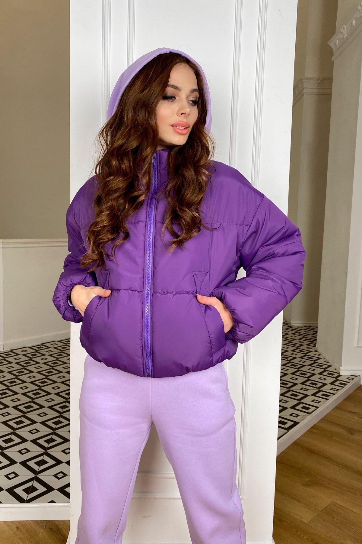 Драйв куртка из плащевой ткани 10448 АРТ. 46767 Цвет: Сиреневый 861 - фото 6, интернет магазин tm-modus.ru