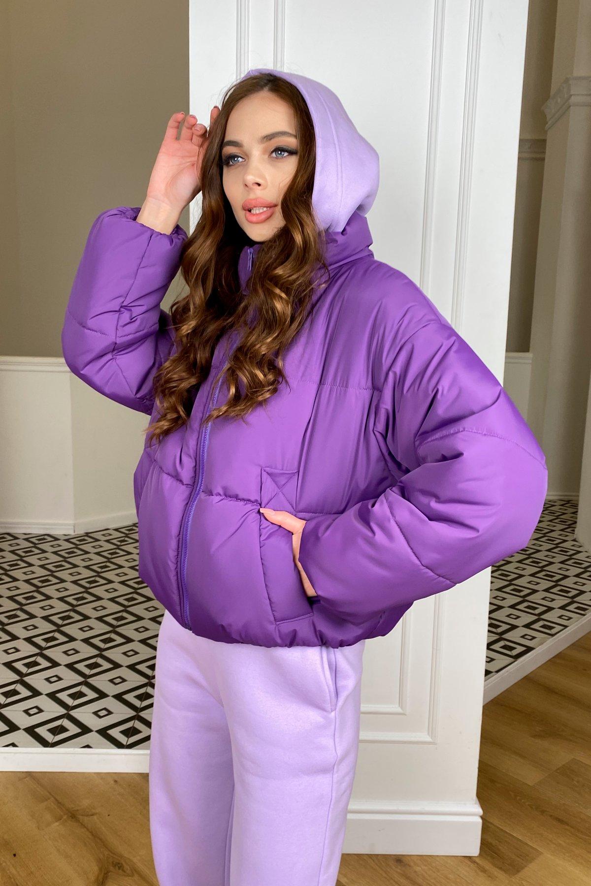 Драйв куртка из плащевой ткани 10448 АРТ. 46767 Цвет: Сиреневый 861 - фото 8, интернет магазин tm-modus.ru