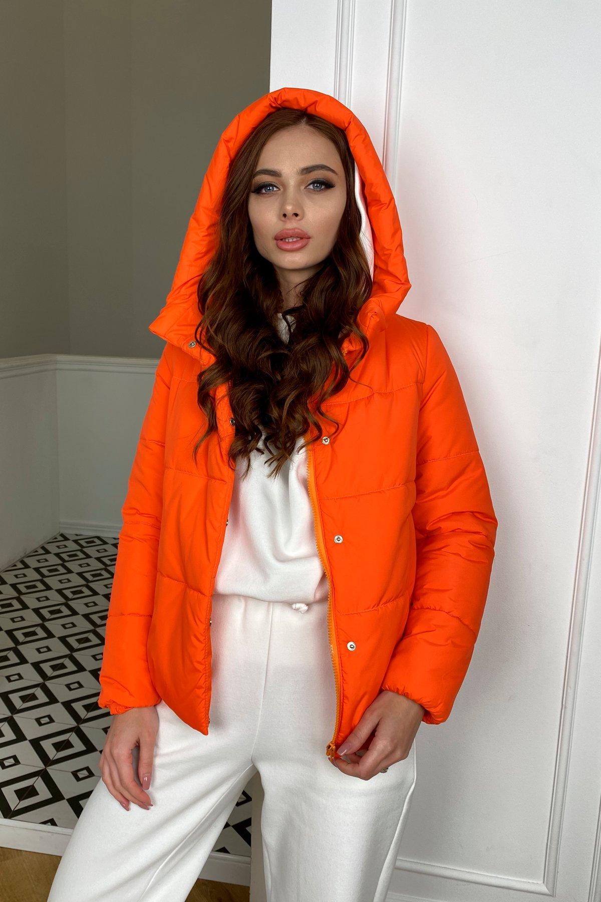Рито  куртка из плащевой ткани Ammy  10443 АРТ. 46762 Цвет: Оранжевый 788 - фото 1, интернет магазин tm-modus.ru