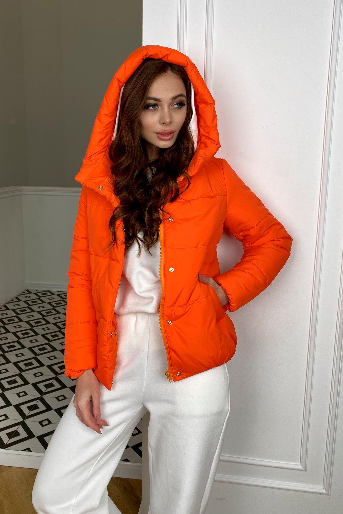 Рито  куртка из плащевой ткани Ammy  10443 АРТ. 46762 Цвет: Оранжевый 788 - фото 2, интернет магазин tm-modus.ru