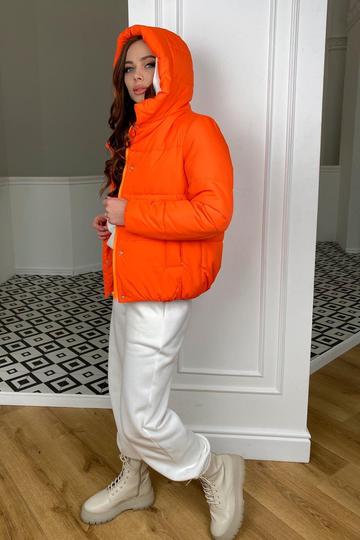 Рито  куртка из плащевой ткани Ammy  10443 АРТ. 46762 Цвет: Оранжевый 788 - фото 3, интернет магазин tm-modus.ru