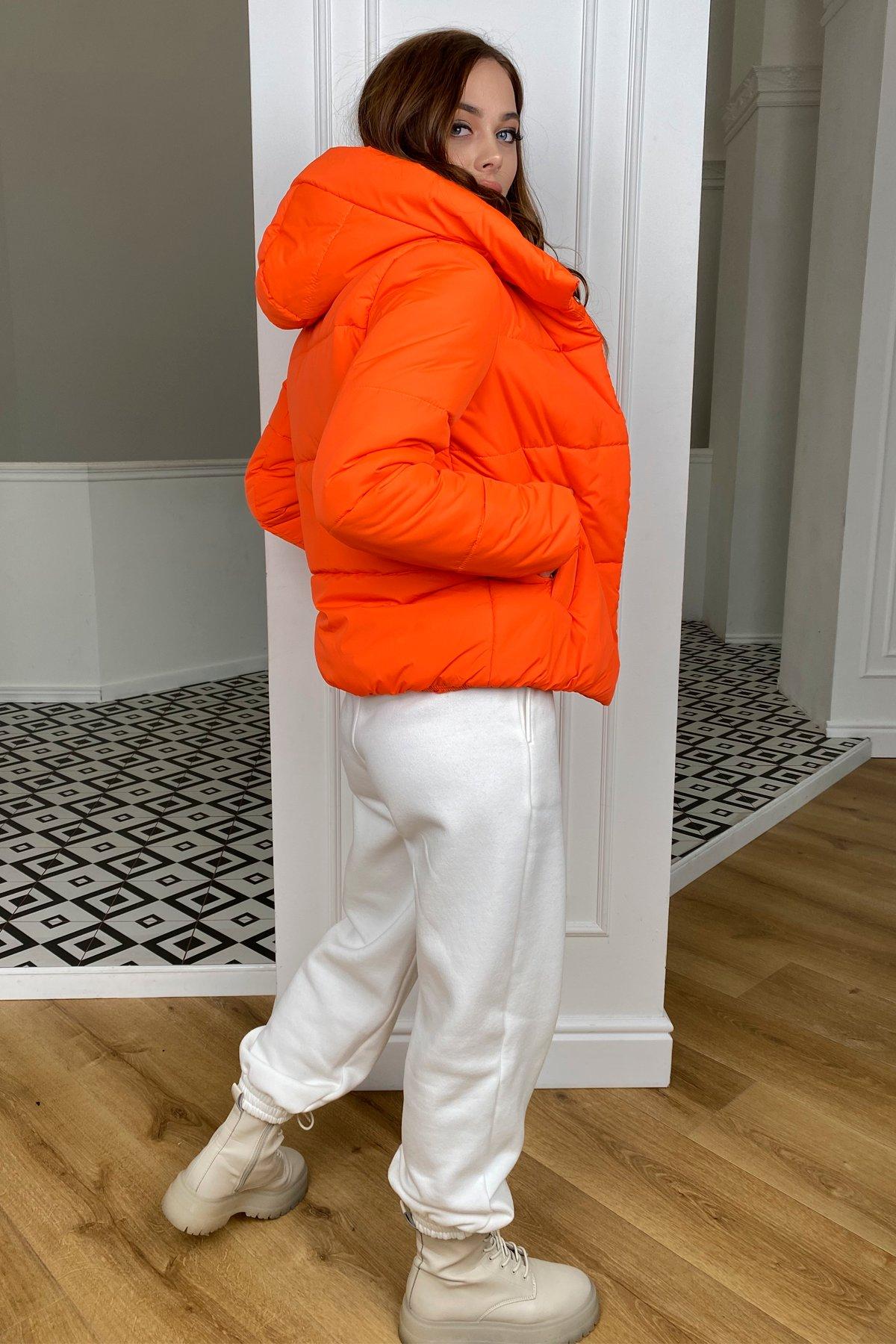 Рито  куртка из плащевой ткани Ammy  10443 АРТ. 46762 Цвет: Оранжевый 788 - фото 6, интернет магазин tm-modus.ru