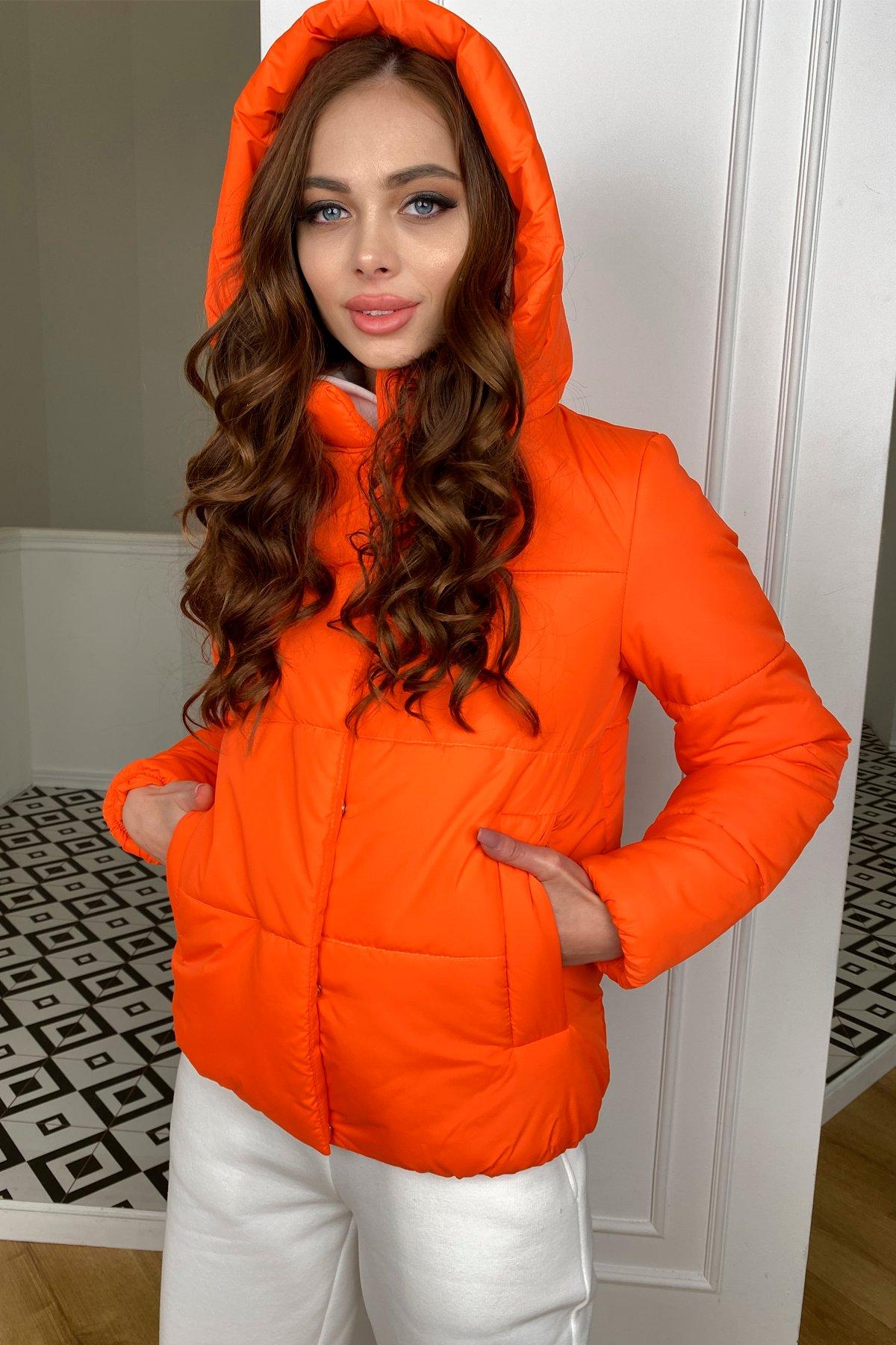Рито  куртка из плащевой ткани Ammy  10443 АРТ. 46762 Цвет: Оранжевый 788 - фото 7, интернет магазин tm-modus.ru