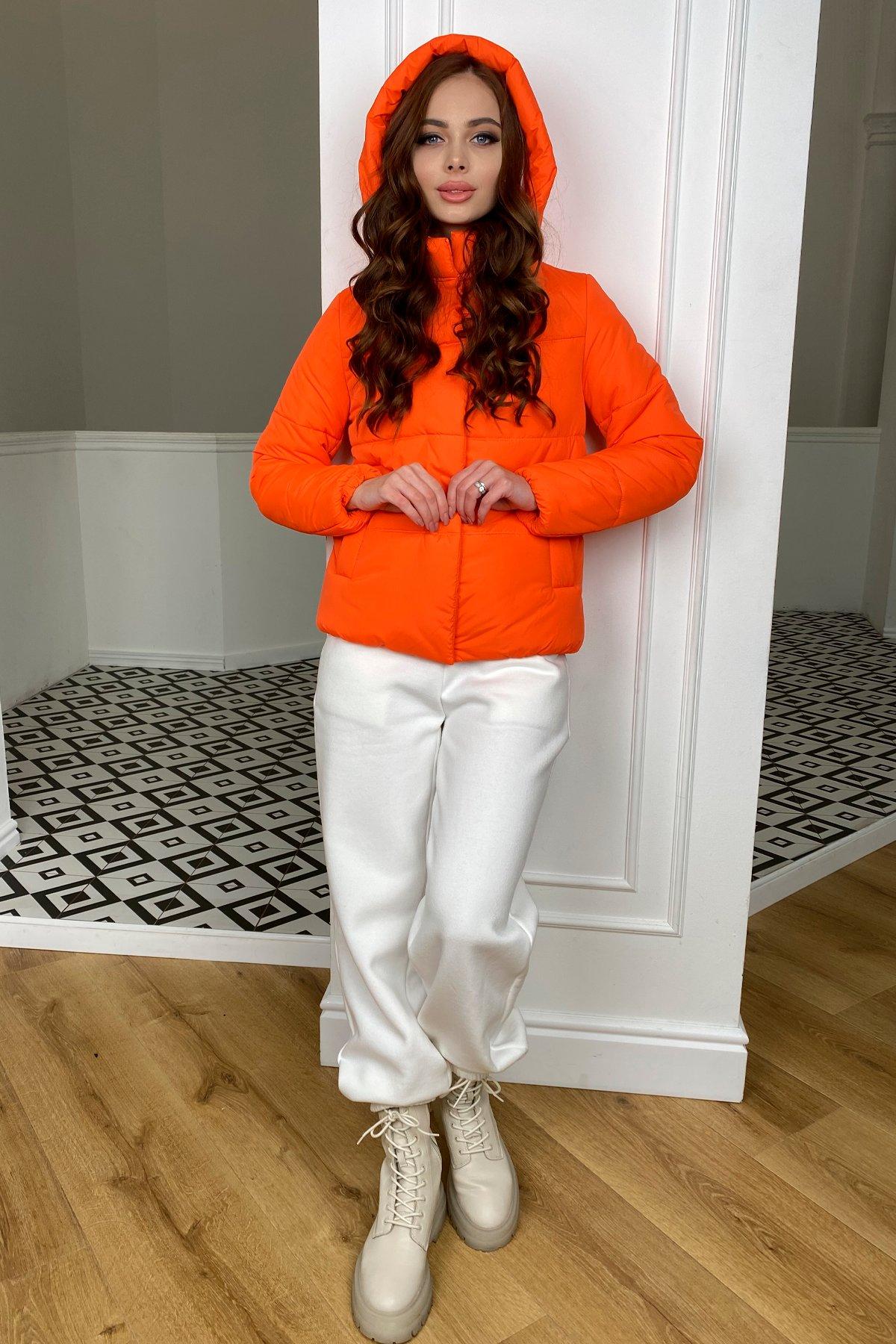 Рито  куртка из плащевой ткани Ammy  10443 АРТ. 46762 Цвет: Оранжевый 788 - фото 8, интернет магазин tm-modus.ru