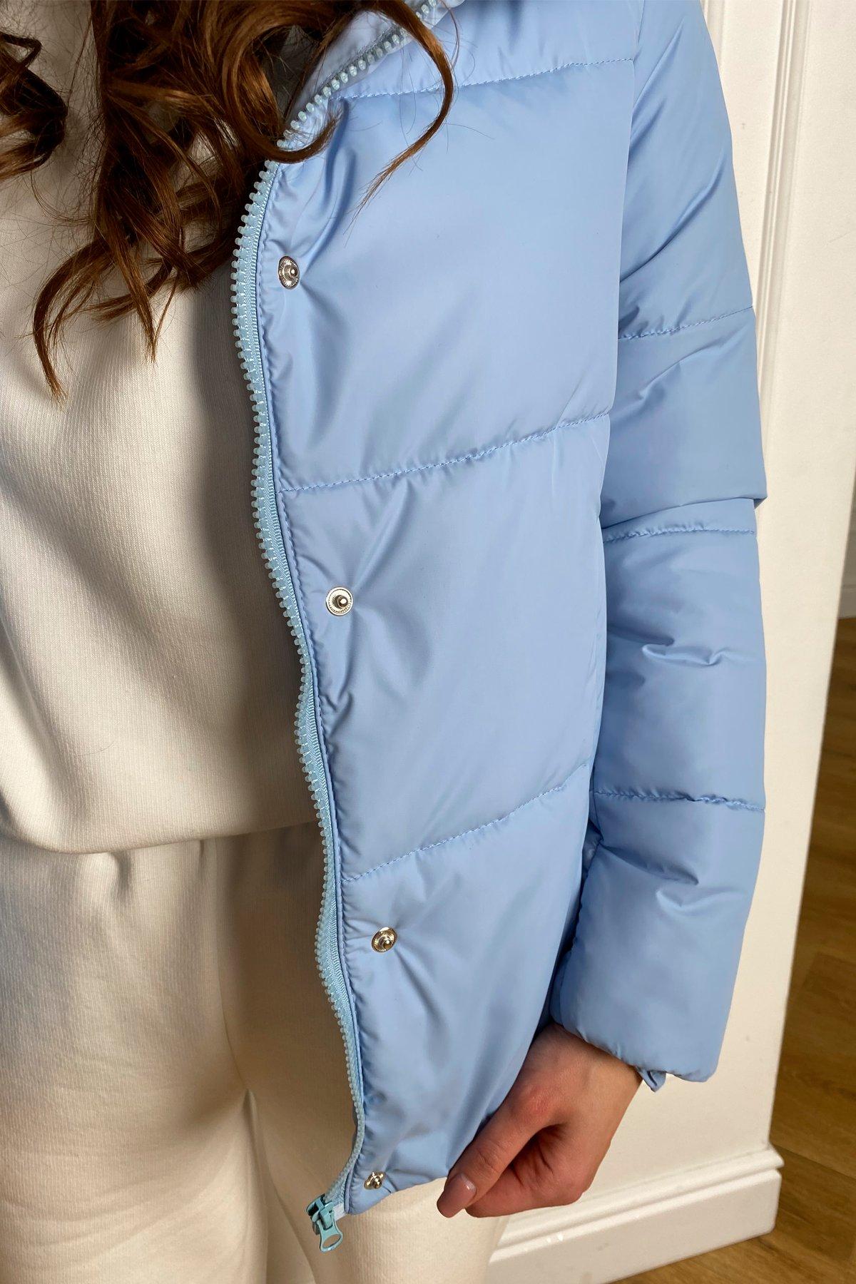 Рито  куртка из плащевой ткани Ammy  10443 АРТ. 46773 Цвет: Голубой - фото 1, интернет магазин tm-modus.ru