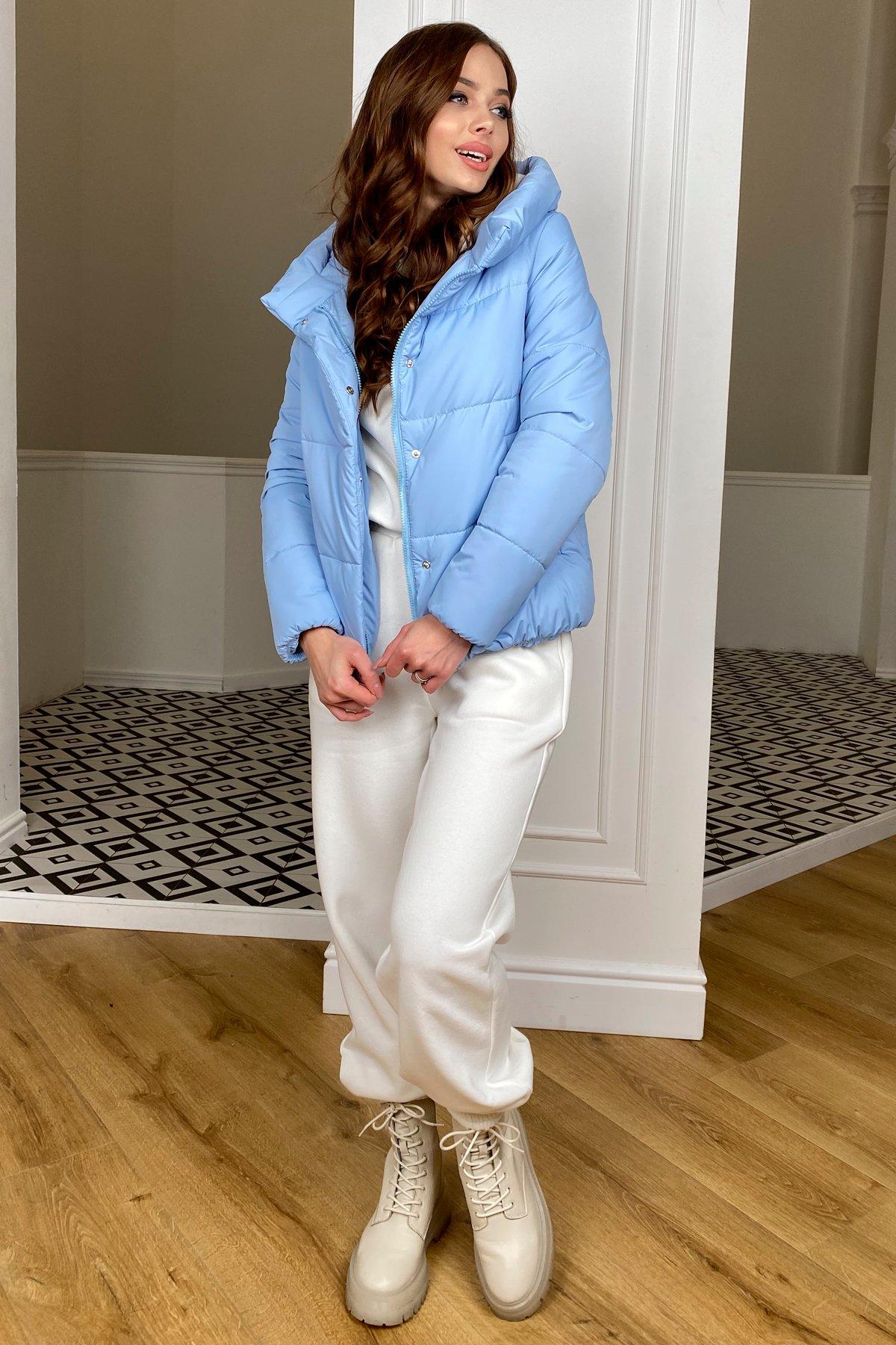 Рито  куртка из плащевой ткани Ammy  10443 АРТ. 46773 Цвет: Голубой - фото 3, интернет магазин tm-modus.ru