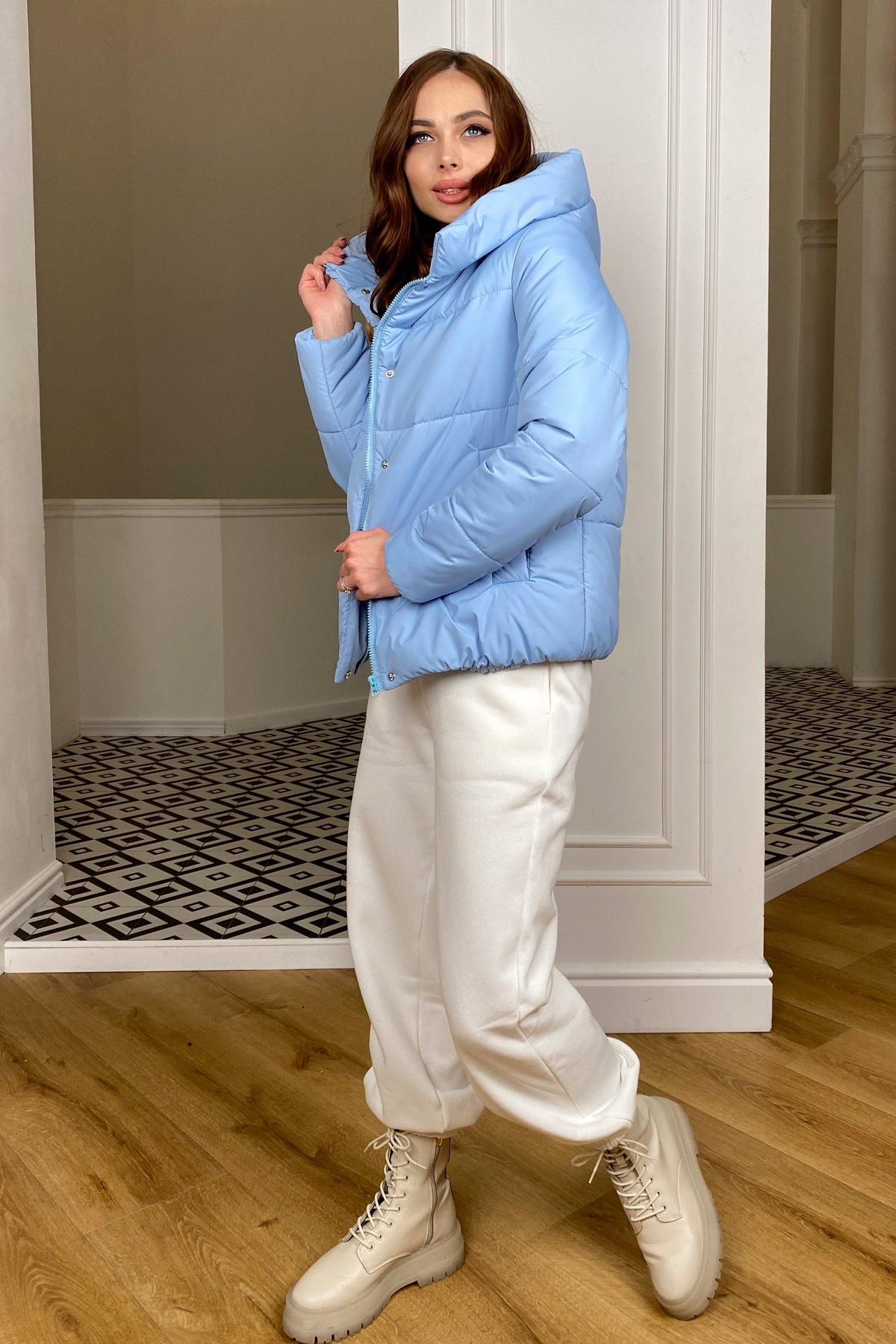 Рито  куртка из плащевой ткани Ammy  10443 АРТ. 46773 Цвет: Голубой - фото 4, интернет магазин tm-modus.ru