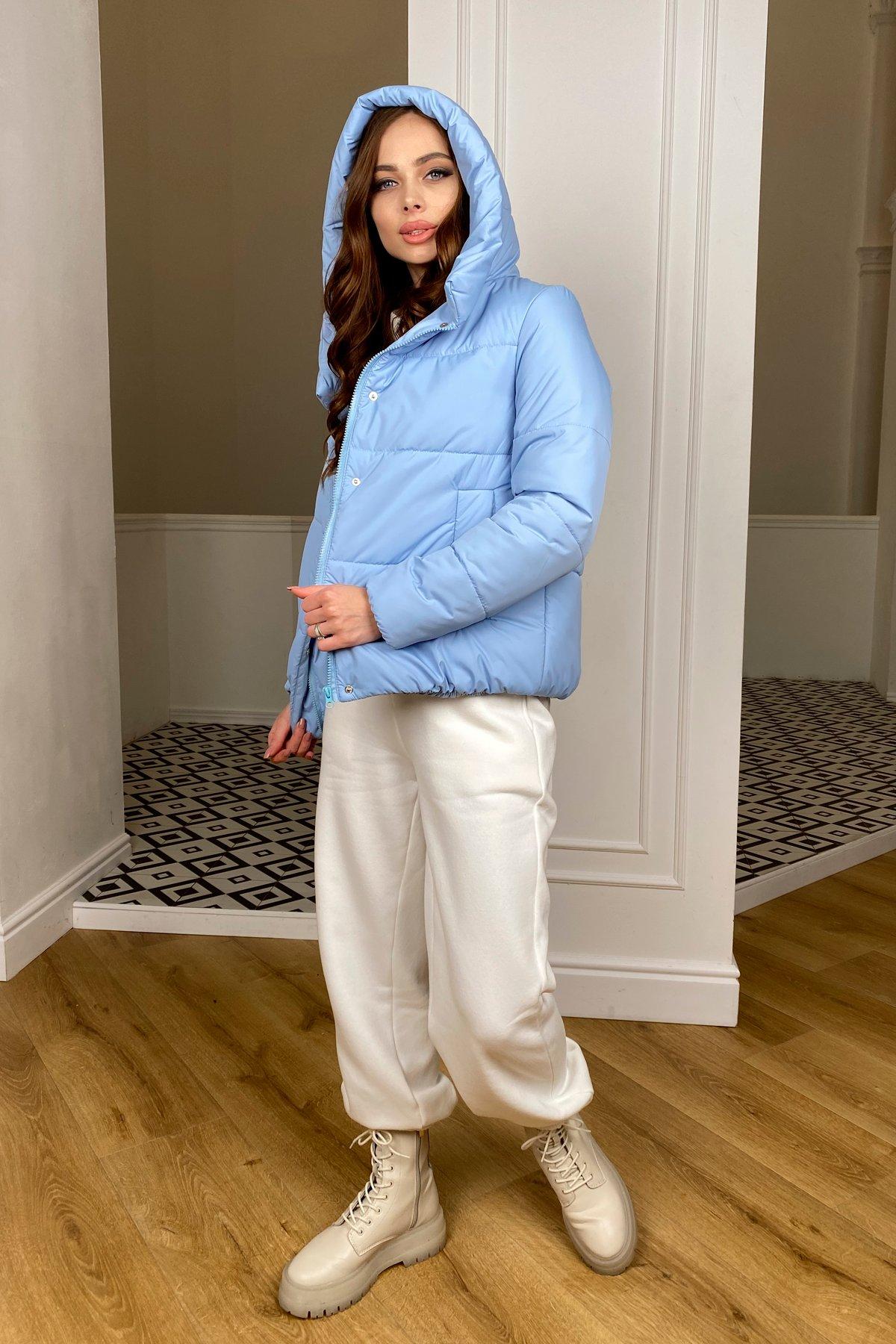 Рито  куртка из плащевой ткани Ammy  10443 АРТ. 46773 Цвет: Голубой - фото 6, интернет магазин tm-modus.ru