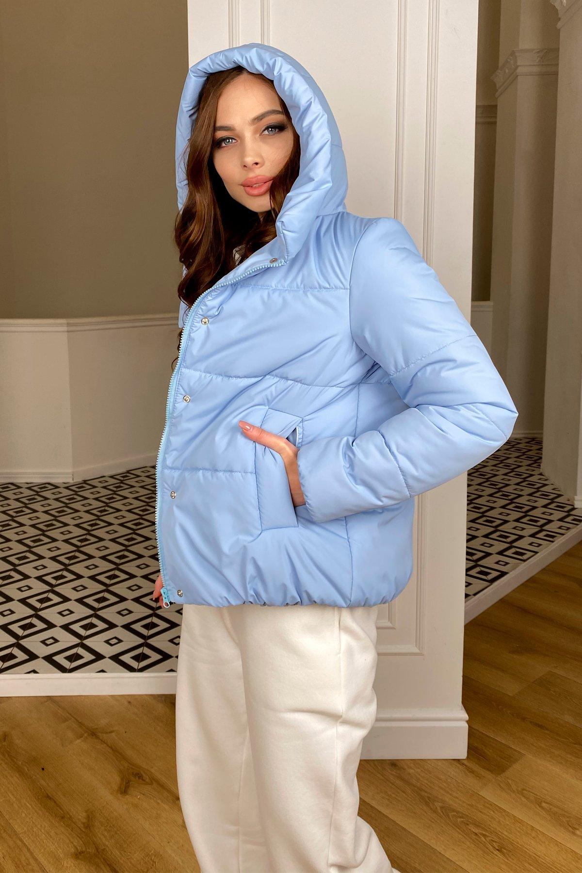Рито  куртка из плащевой ткани Ammy  10443 АРТ. 46773 Цвет: Голубой - фото 7, интернет магазин tm-modus.ru
