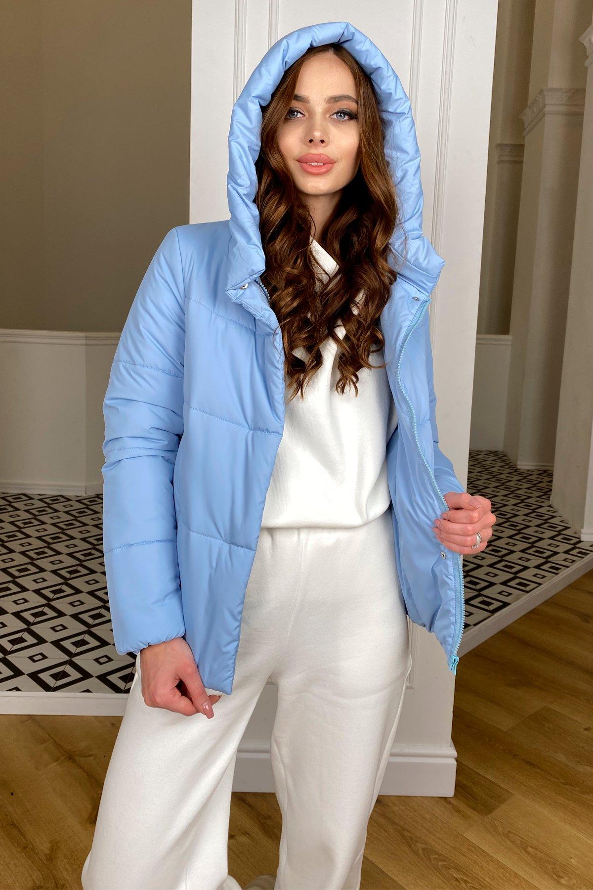 Рито  куртка из плащевой ткани Ammy  10443 АРТ. 46773 Цвет: Голубой - фото 8, интернет магазин tm-modus.ru