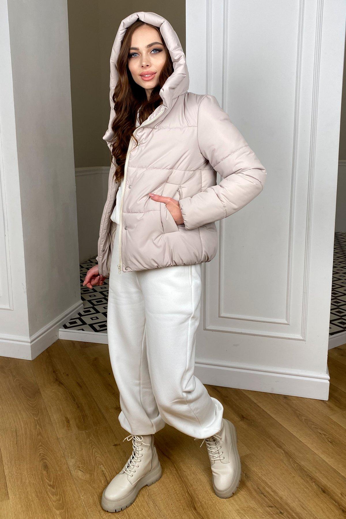 Рито  куртка из плащевой ткани Ammy  10443 АРТ. 46764 Цвет: Бежевый 511 - фото 3, интернет магазин tm-modus.ru