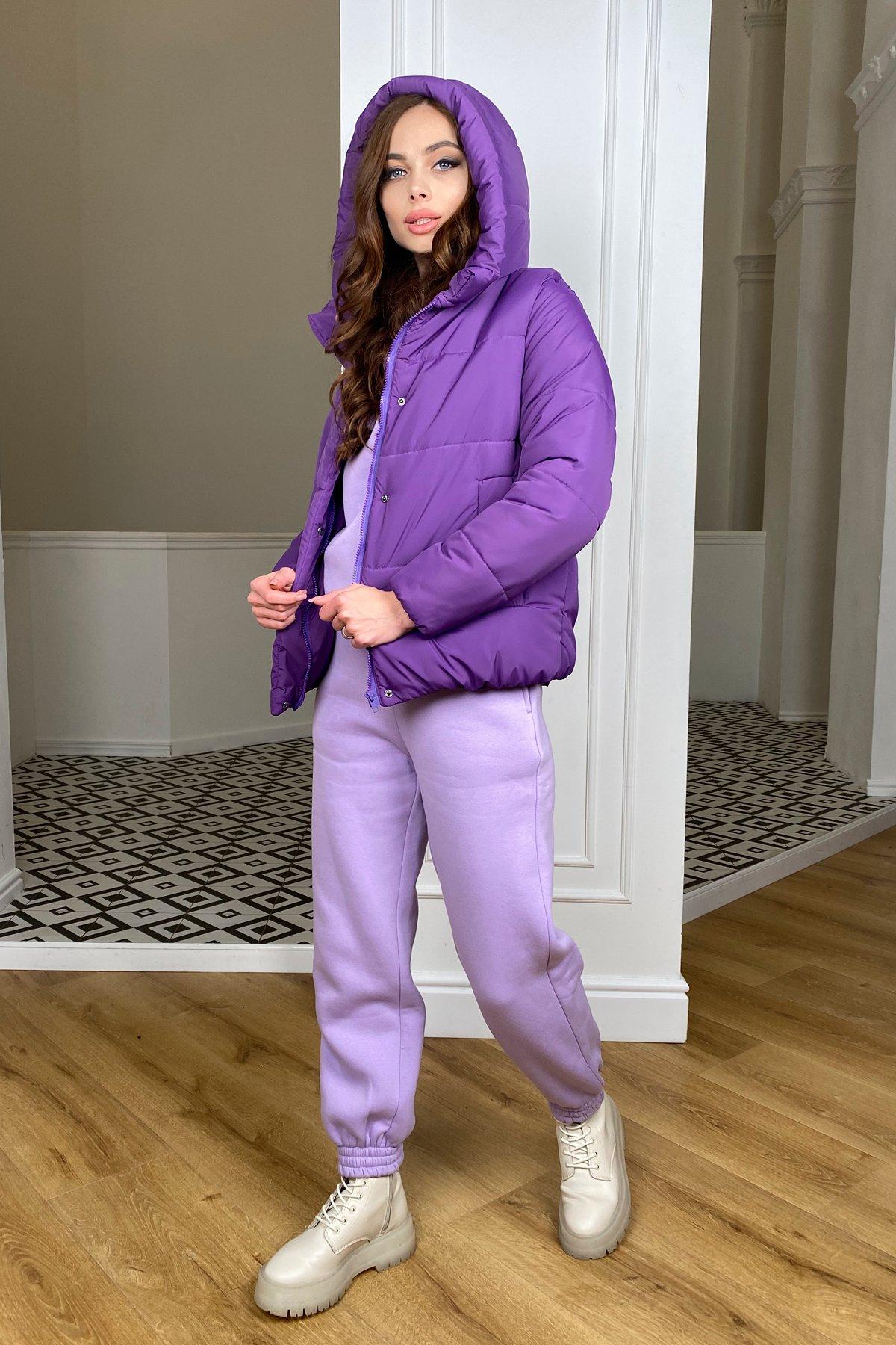 Рито  куртка из плащевой ткани Ammy  10443 АРТ. 46763 Цвет: Сиреневый 861 - фото 1, интернет магазин tm-modus.ru