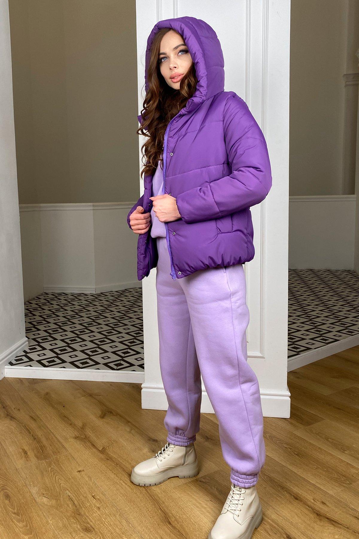 Рито  куртка из плащевой ткани Ammy  10443 АРТ. 46763 Цвет: Сиреневый 861 - фото 3, интернет магазин tm-modus.ru