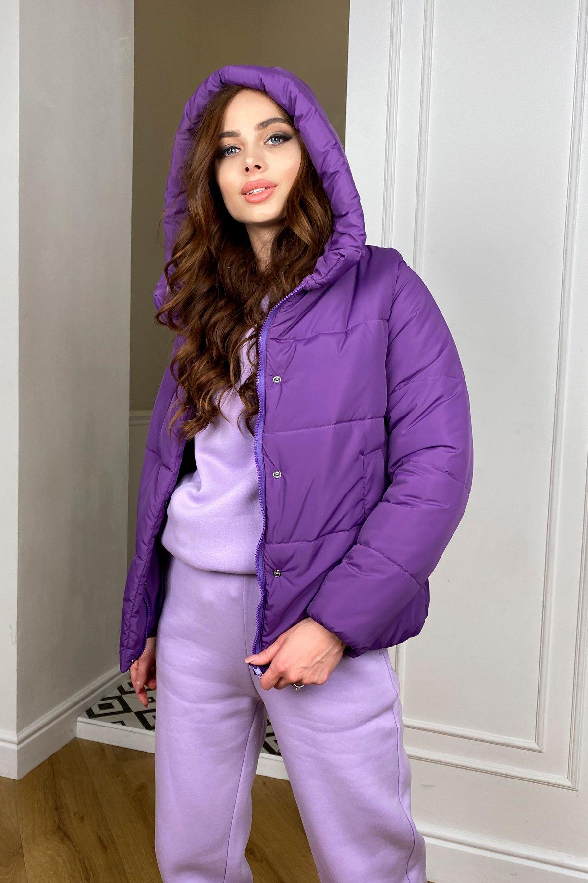Рито  куртка из плащевой ткани Ammy  10443 АРТ. 46763 Цвет: Сиреневый 861 - фото 5, интернет магазин tm-modus.ru