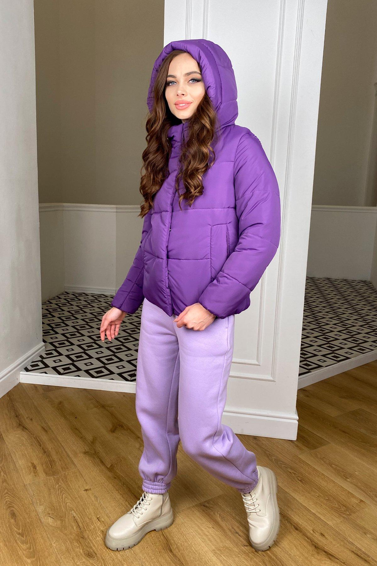 Рито  куртка из плащевой ткани Ammy  10443 АРТ. 46763 Цвет: Сиреневый 861 - фото 7, интернет магазин tm-modus.ru
