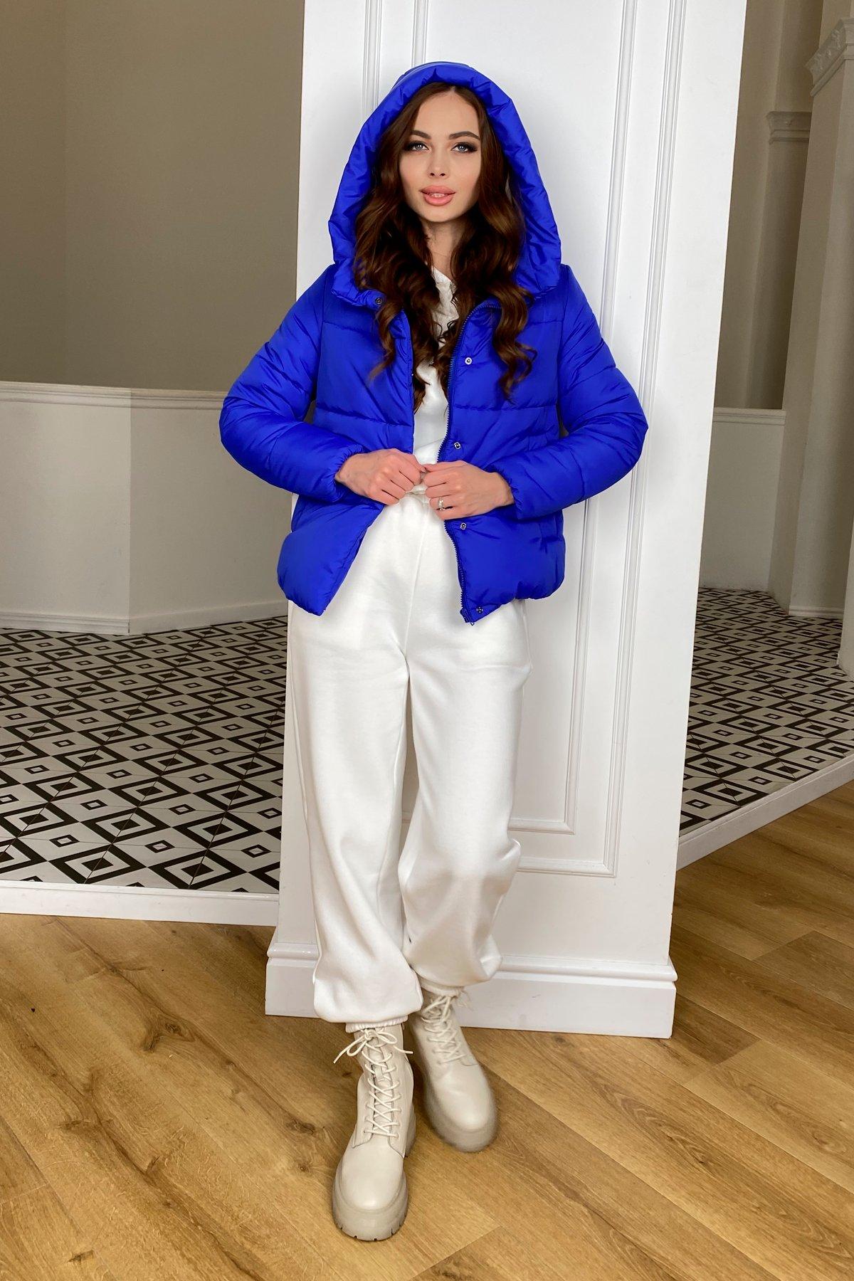 Рито  куртка из плащевой ткани Ammy  10443 АРТ. 46765 Цвет: Электрик 1052 - фото 1, интернет магазин tm-modus.ru