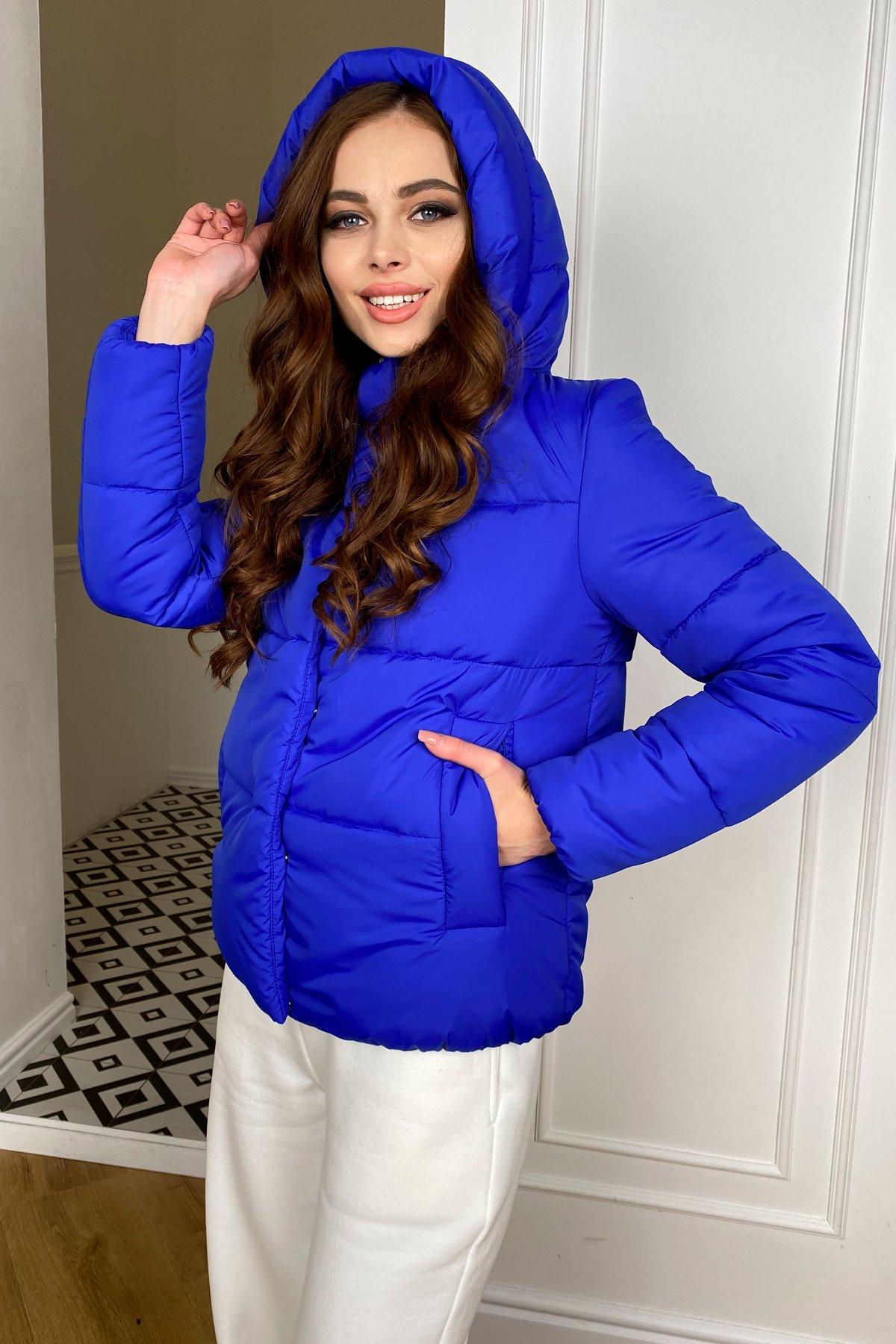 Рито  куртка из плащевой ткани Ammy  10443 АРТ. 46765 Цвет: Электрик 1052 - фото 2, интернет магазин tm-modus.ru