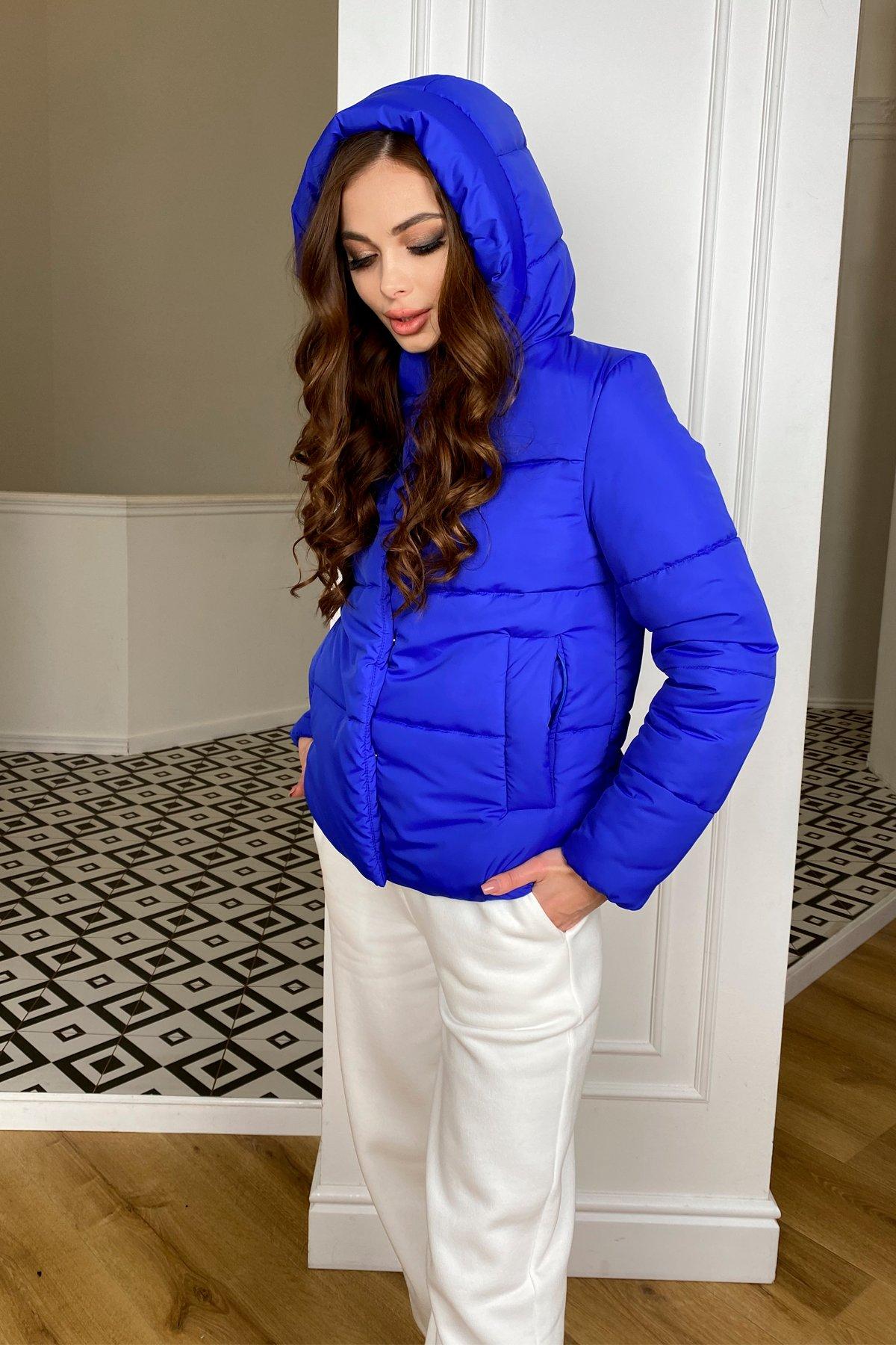 Рито  куртка из плащевой ткани Ammy  10443 АРТ. 46765 Цвет: Электрик 1052 - фото 4, интернет магазин tm-modus.ru