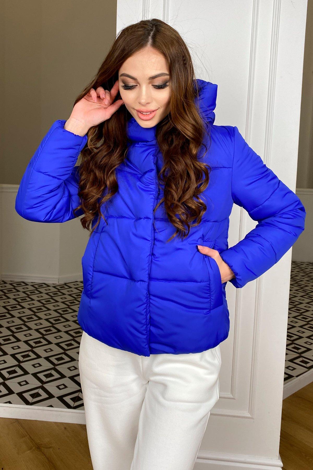 Рито  куртка из плащевой ткани Ammy  10443 АРТ. 46765 Цвет: Электрик 1052 - фото 7, интернет магазин tm-modus.ru