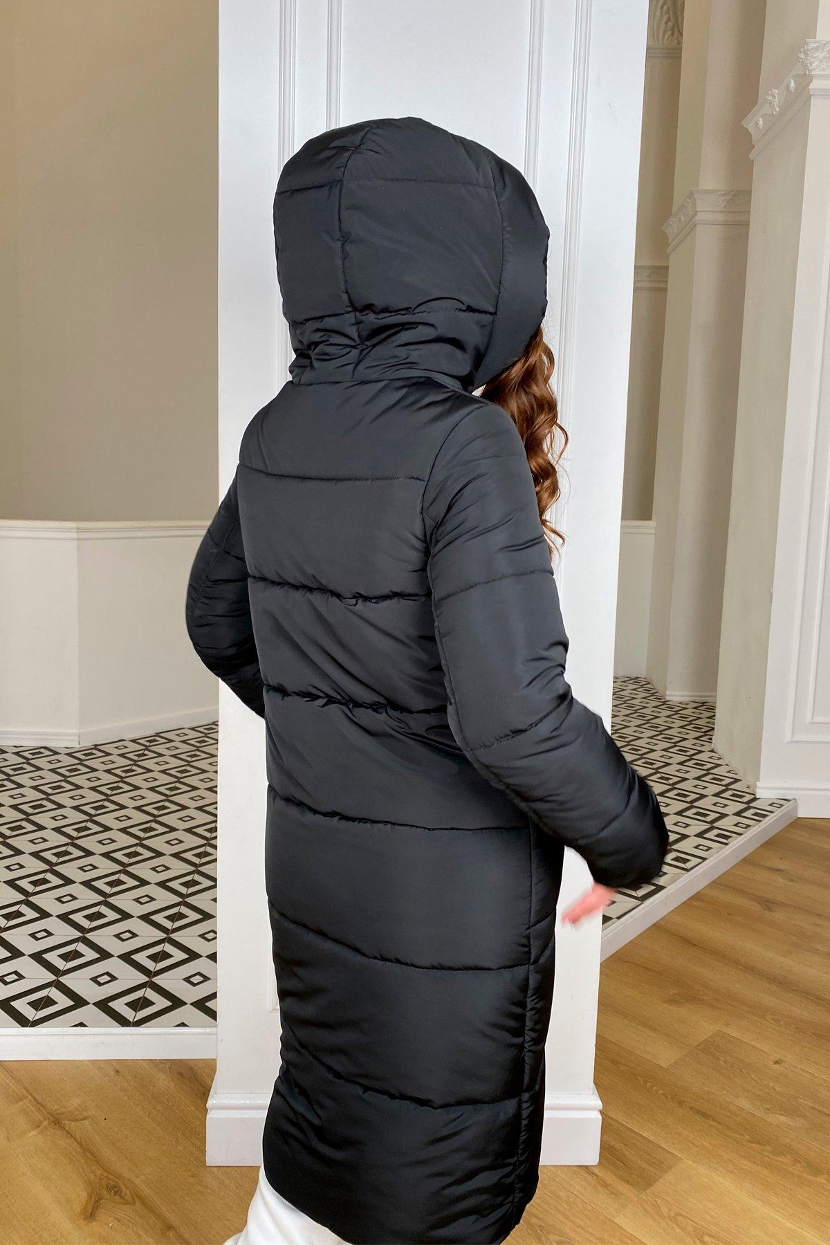 Бланка зимний пуховик из  плащевка Канада 10405 АРТ. 46711 Цвет: Черный - фото 5, интернет магазин tm-modus.ru
