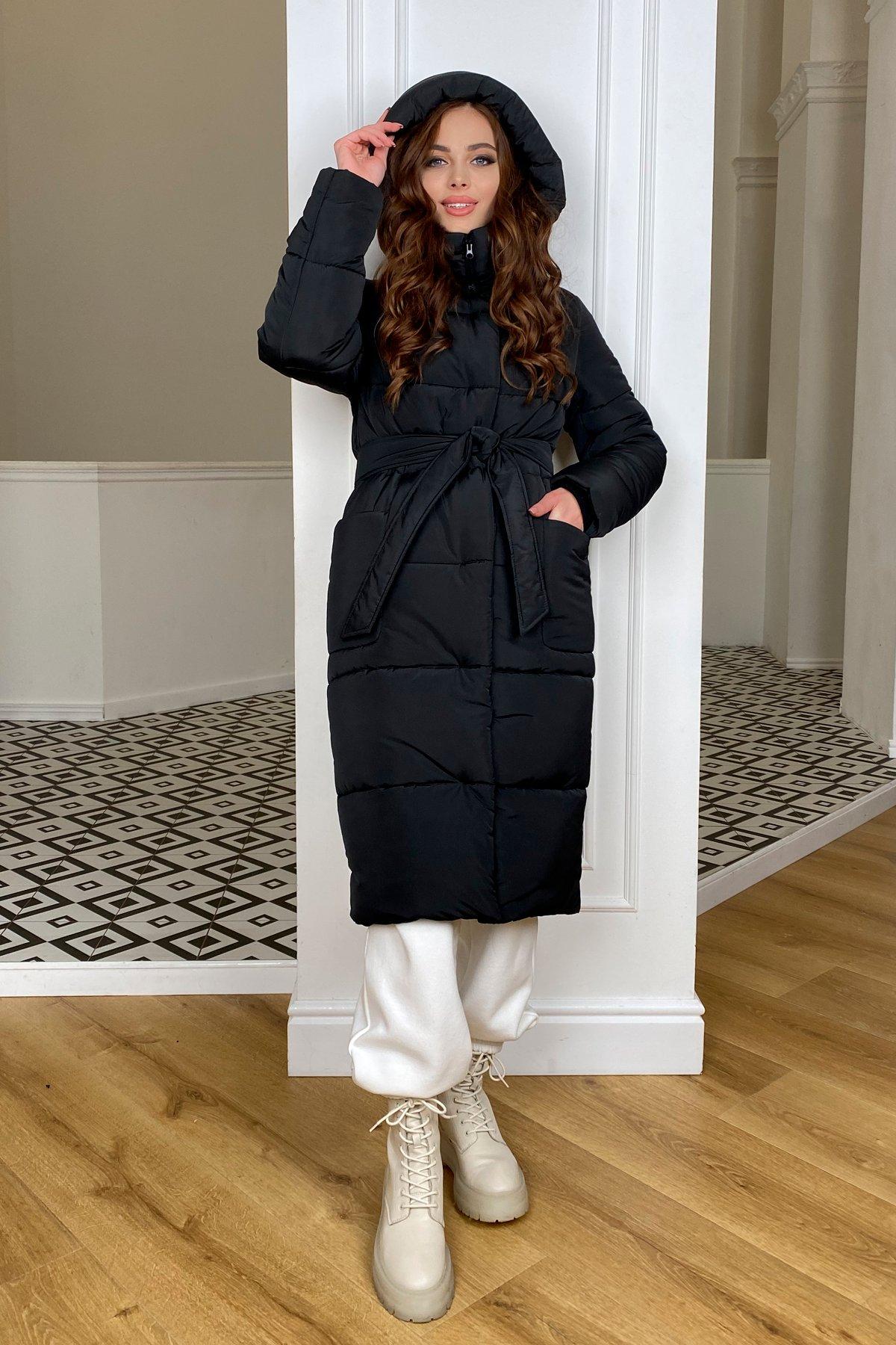 Бланка зимний пуховик из  плащевка Канада 10405 АРТ. 46711 Цвет: Черный - фото 6, интернет магазин tm-modus.ru