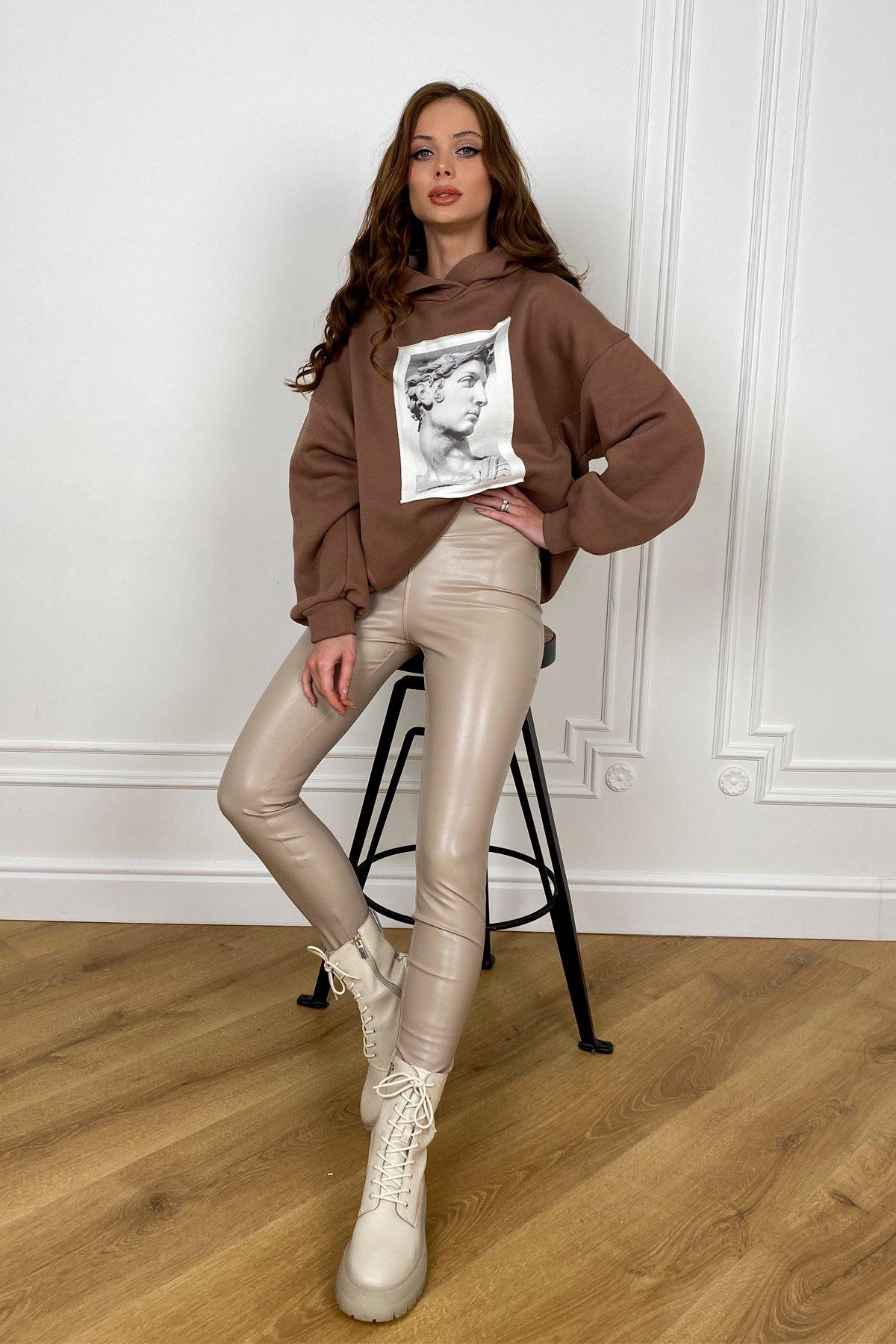 женские брюки в Украине  Стинг  леггинсы из  экокожи 10481