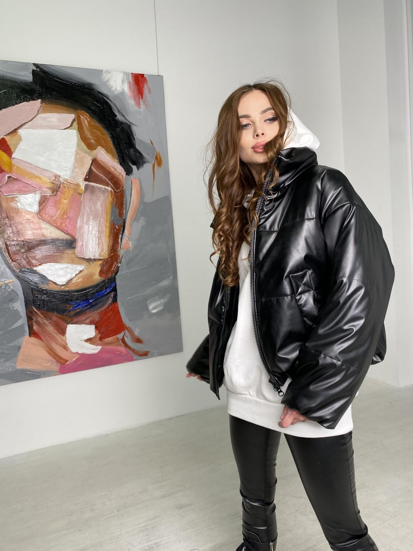 куртка женская купить Драйв куртка из  экокожи  10499