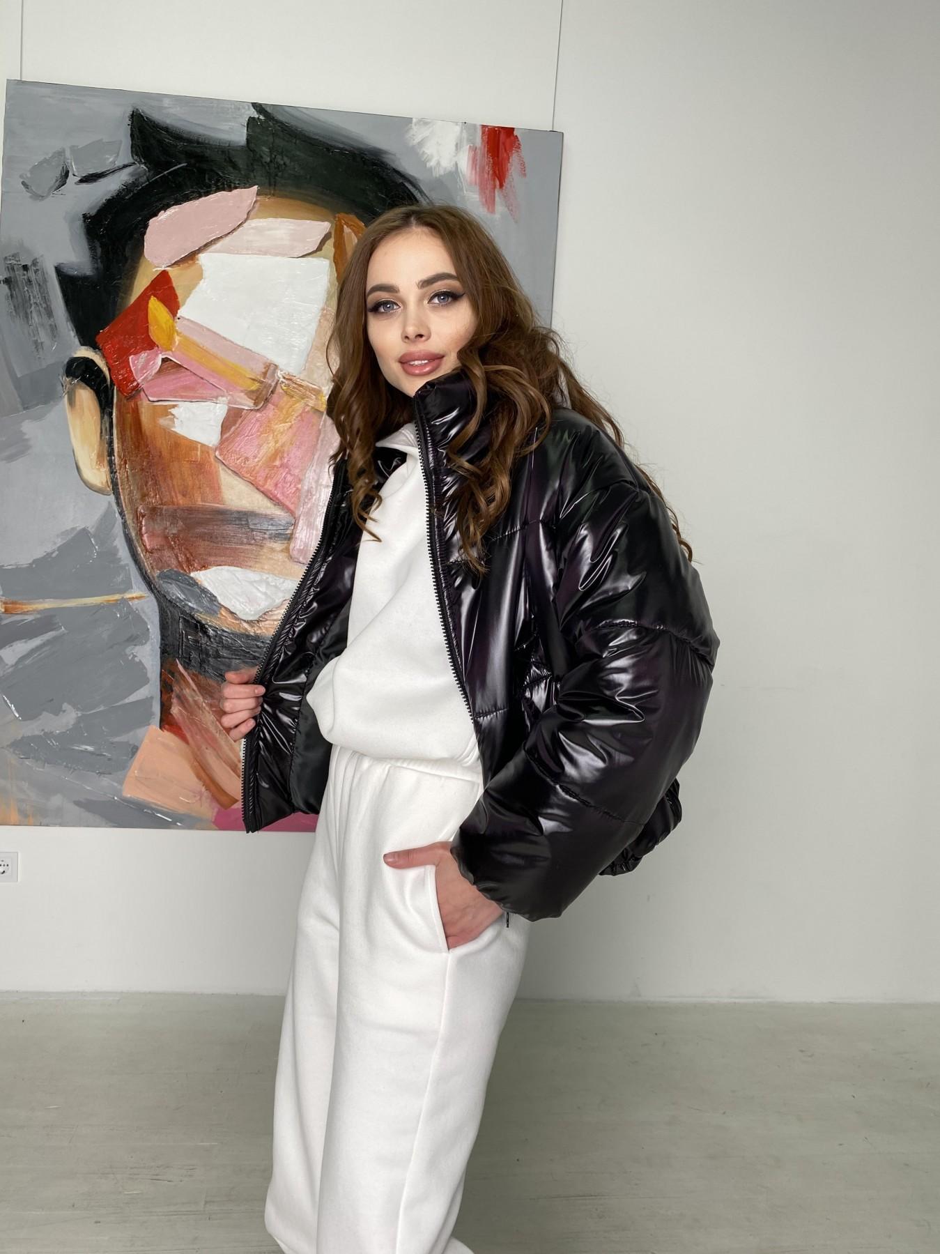 куртка пуховик женская Драйв куртка из плащевой ткани 10497