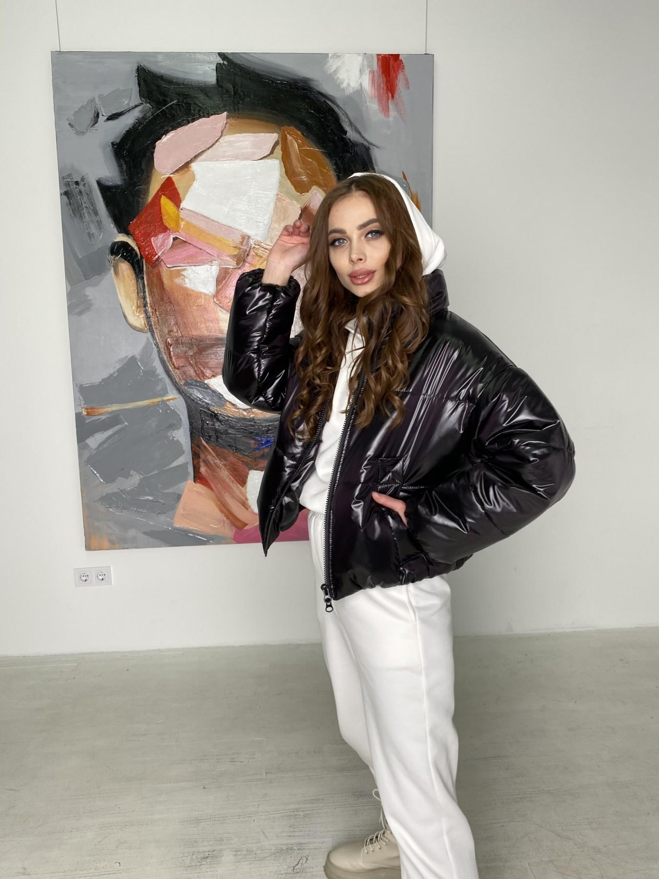 Драйв куртка из плащевой ткани 10497 АРТ. 46843 Цвет: Черный - фото 4, интернет магазин tm-modus.ru