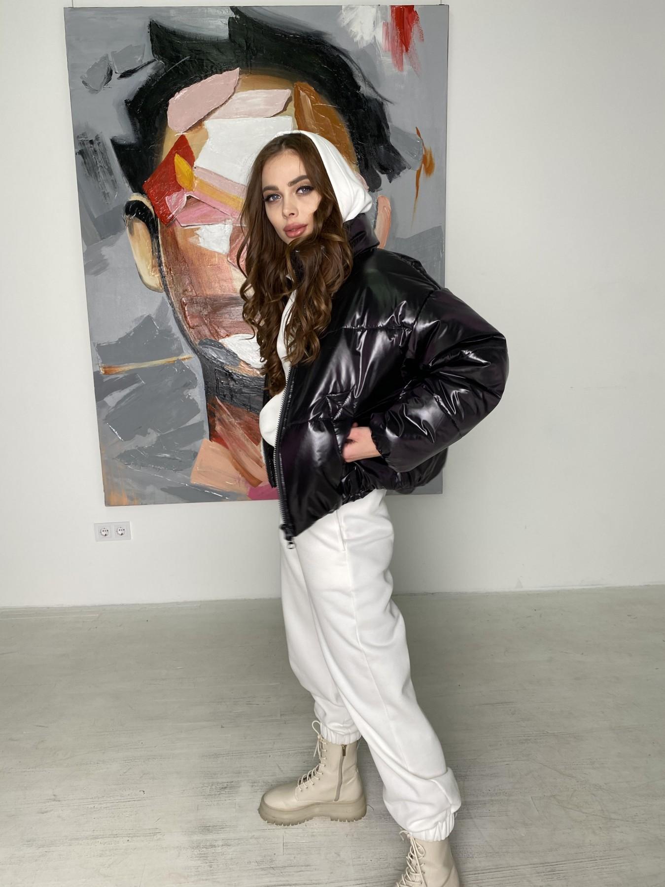 Драйв куртка из плащевой ткани 10497 АРТ. 46843 Цвет: Черный - фото 5, интернет магазин tm-modus.ru
