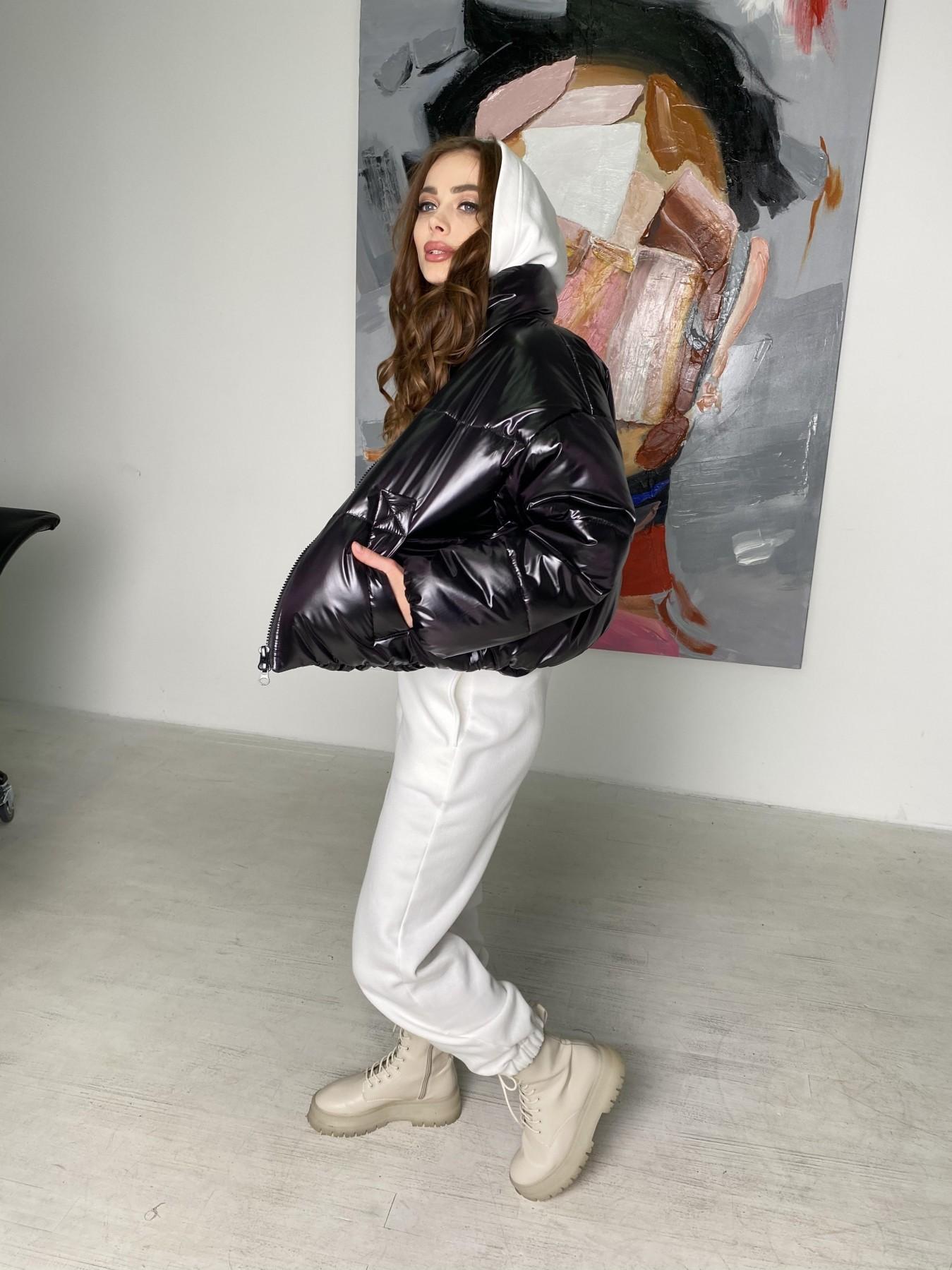 Драйв куртка из плащевой ткани 10497 АРТ. 46843 Цвет: Черный - фото 6, интернет магазин tm-modus.ru