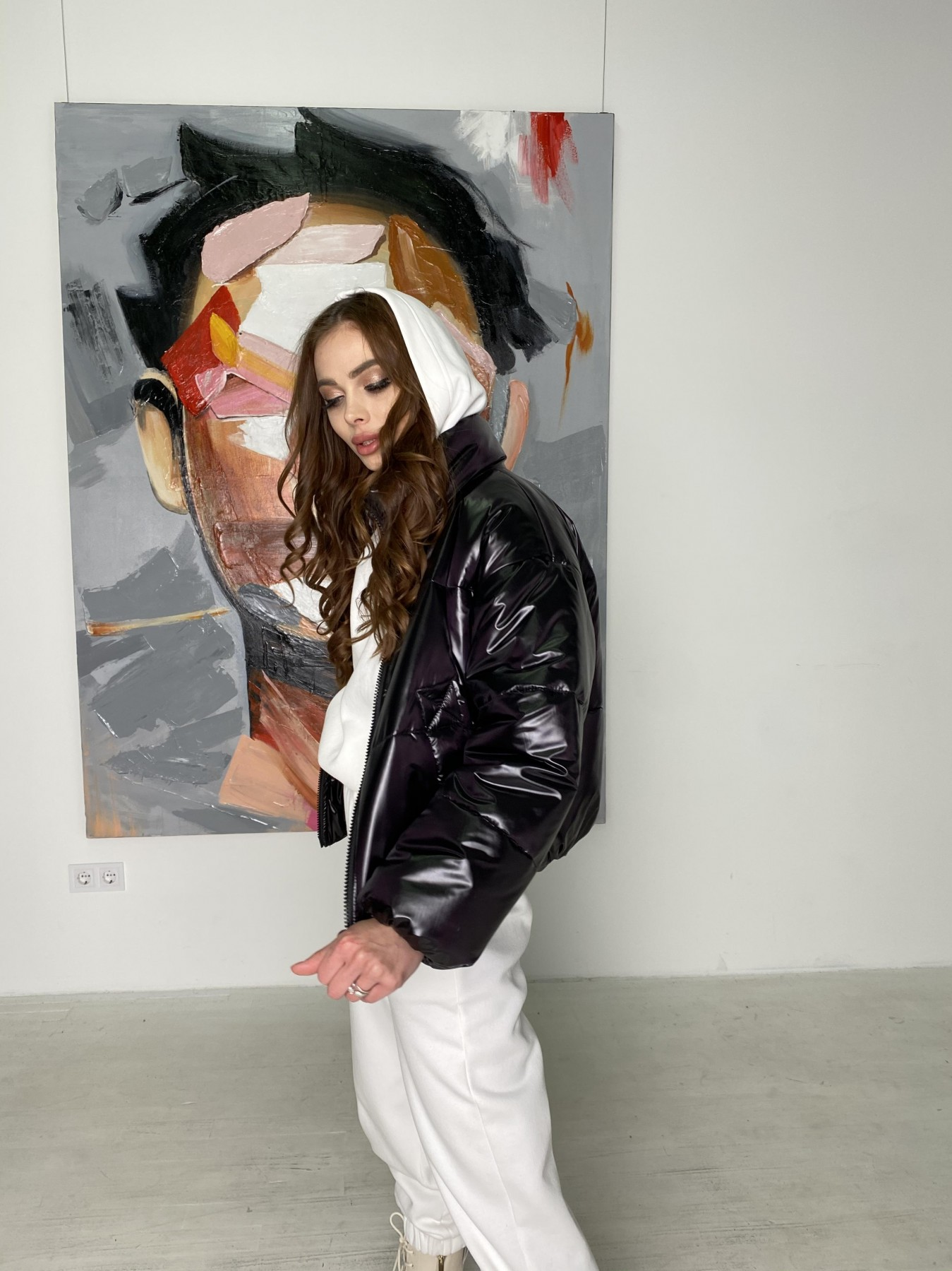 Драйв куртка из плащевой ткани 10497 АРТ. 46843 Цвет: Черный - фото 7, интернет магазин tm-modus.ru