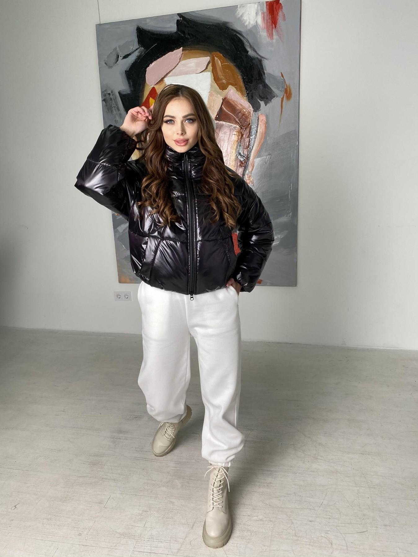 Драйв куртка из плащевой ткани 10497 АРТ. 46843 Цвет: Черный - фото 9, интернет магазин tm-modus.ru