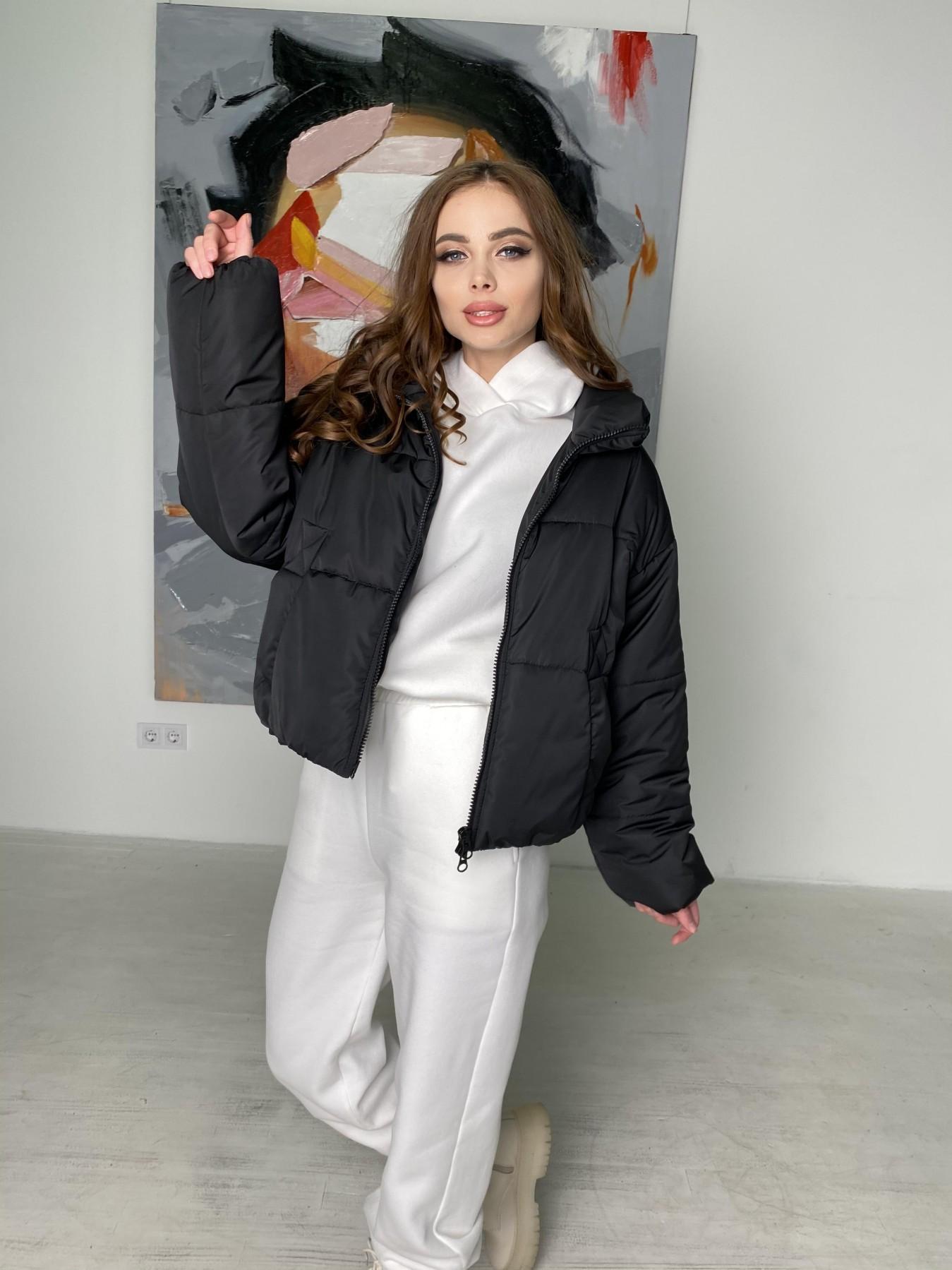 Драйв куртка из плащевой ткани 10448 АРТ. 46842 Цвет: Черный - фото 4, интернет магазин tm-modus.ru