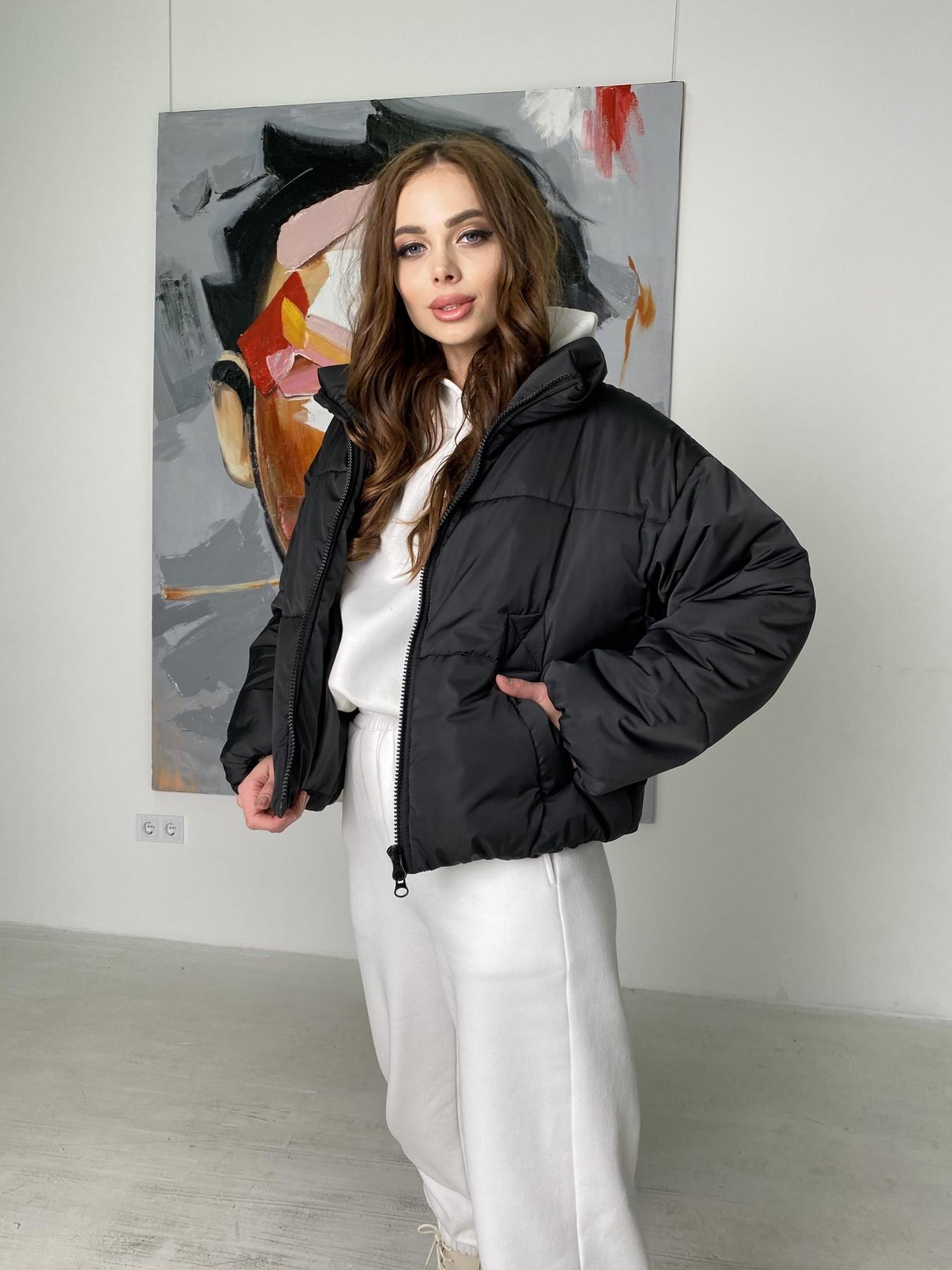Драйв куртка из плащевой ткани 10448 АРТ. 46842 Цвет: Черный - фото 6, интернет магазин tm-modus.ru